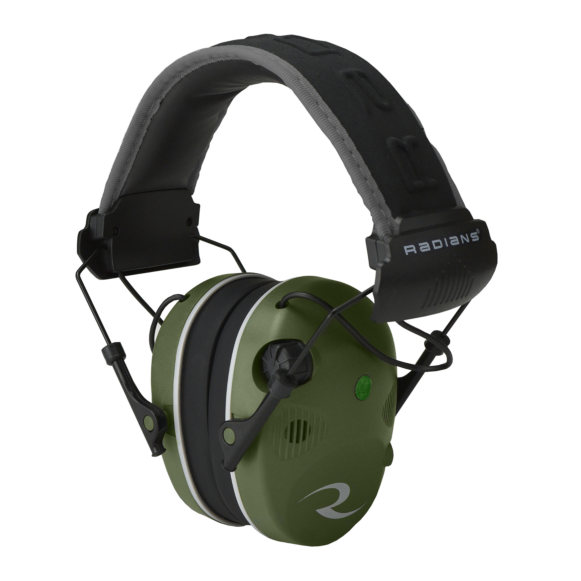 "Radians manufactures a comprehensive line of quality protective gear to minimize personal exposure to safety hazards. Their mission is to meet the customers' personal protection needs profitably with excellent service and to innovate products that help keep the world safe at work"" home"" in the woods"" and on the range."