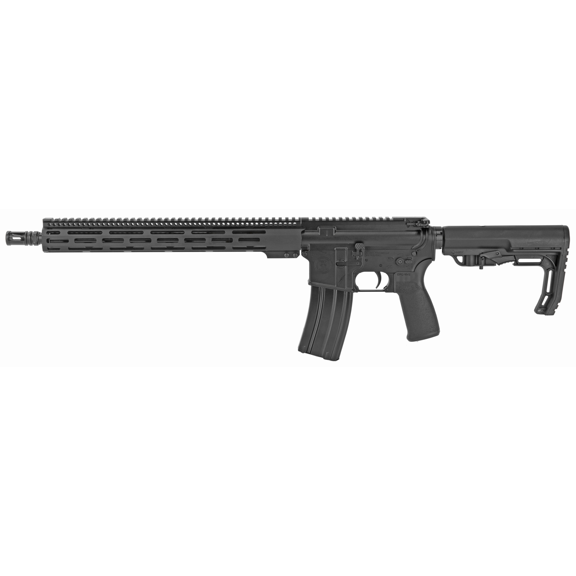 """The Radical Firearms AR uses MIL-STD Upper and lower receivers along with a free float rail system for increased accuracy"""" keeping your hands cool"""" and giving you plenty of room for accessories. Regardless if it's your first or fiftieth"""" a Radical Firearms AR rifle will not disappoint!"""