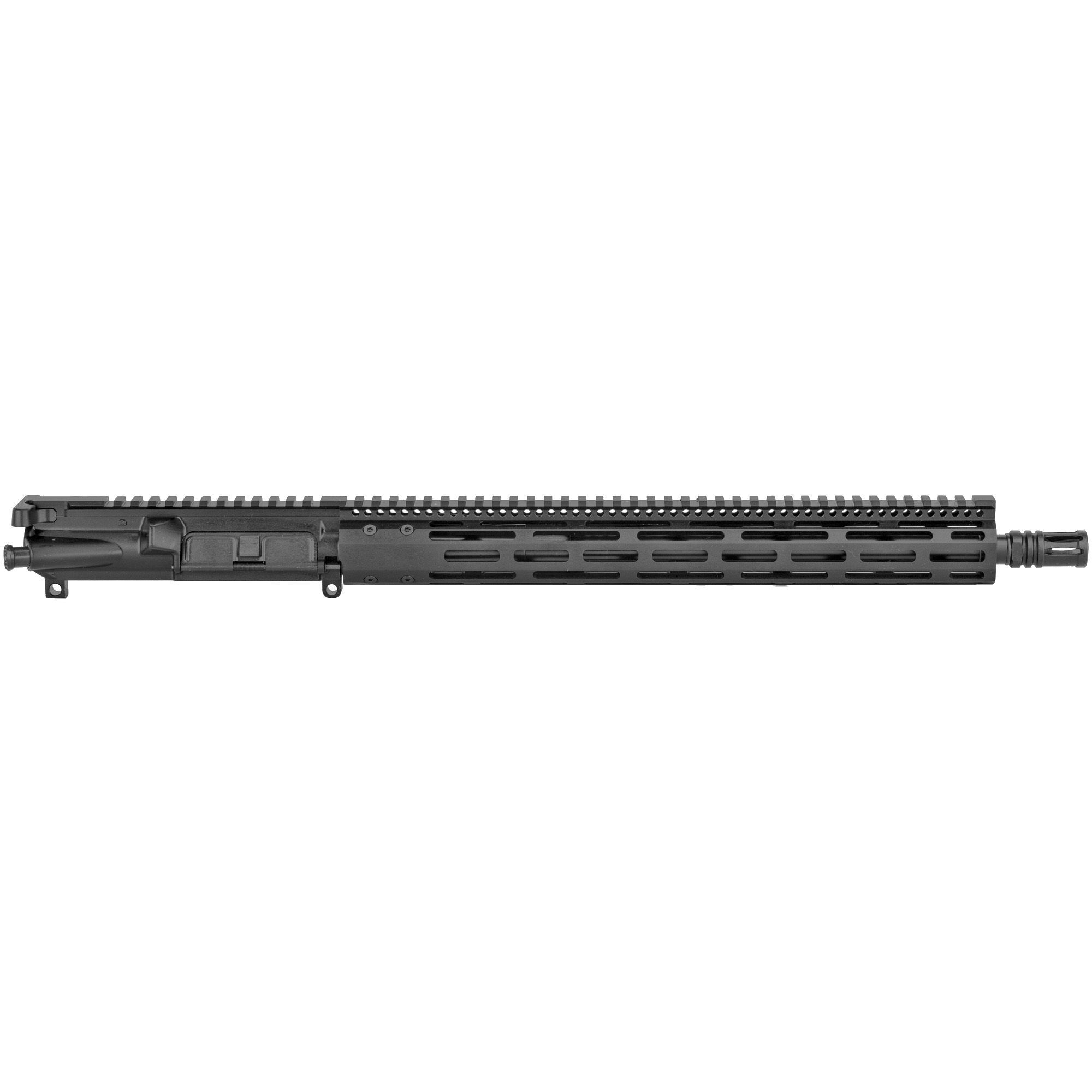 """The Radical Firearms 16"""" HBAR profile 300BLK is a complete MIL-STD upper ready to drop on any MIL-STD lower Receiver. Perfect for the novice or advanced shooter wanting to finish out that build and hit the range. Built with a 15"""" FCR free float rail system for increased accuracy and keeping your hands cool. No matter what your style of shooting is"""" Radical Firearms has you covered."""