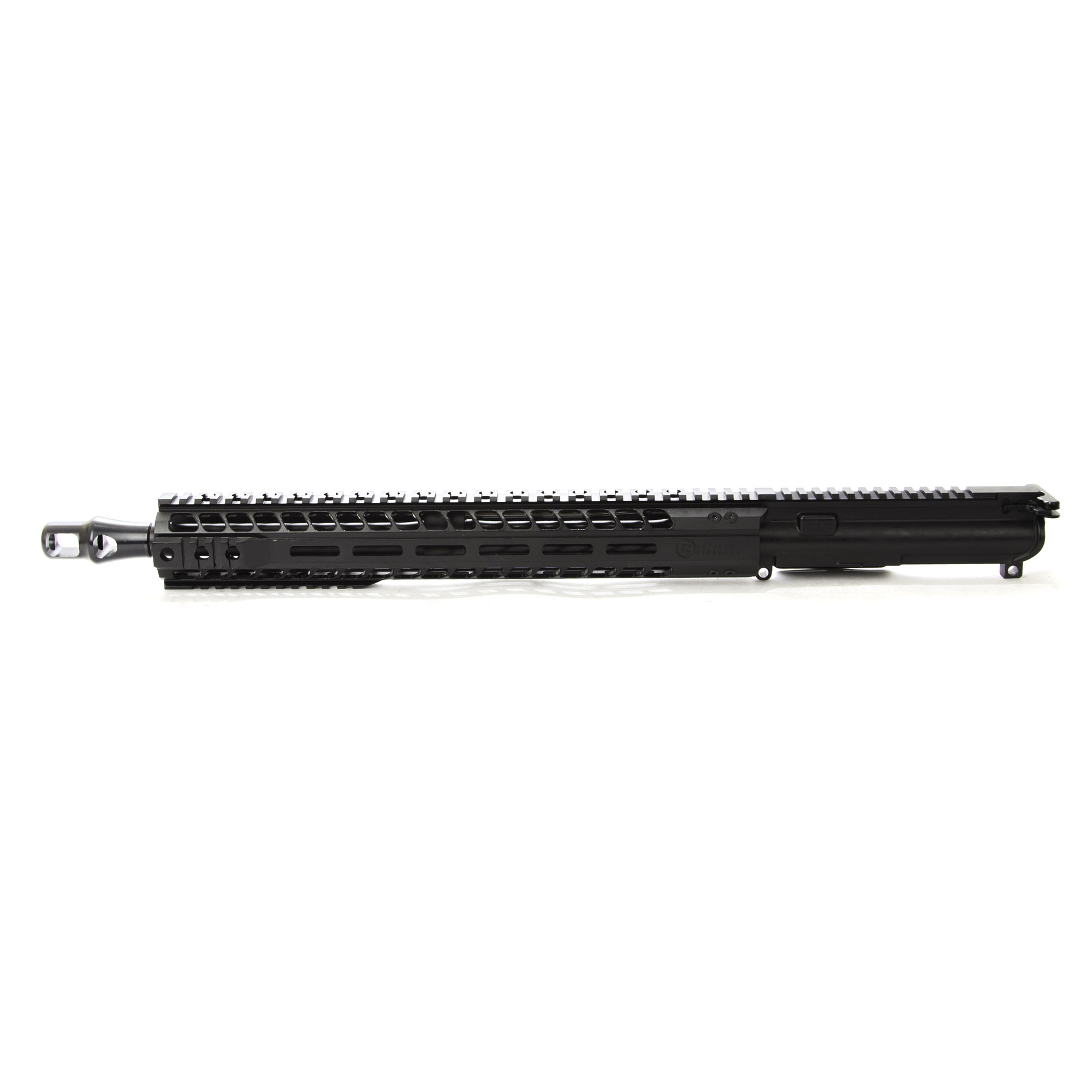"""The Radical Firearms 16"""" Big Bore profile 458 Socom is a complete MIL-STD upper ready to drop on any MIL-STD lower Receiver. Perfect for the novice or advanced shooter wanting to finish out that build and hit the range. Built with a 15"""" MHR free float rail system for increased accuracy and keeping your hands cool. No matter what your style of shooting is"""" Radical Firearms has you covered."""