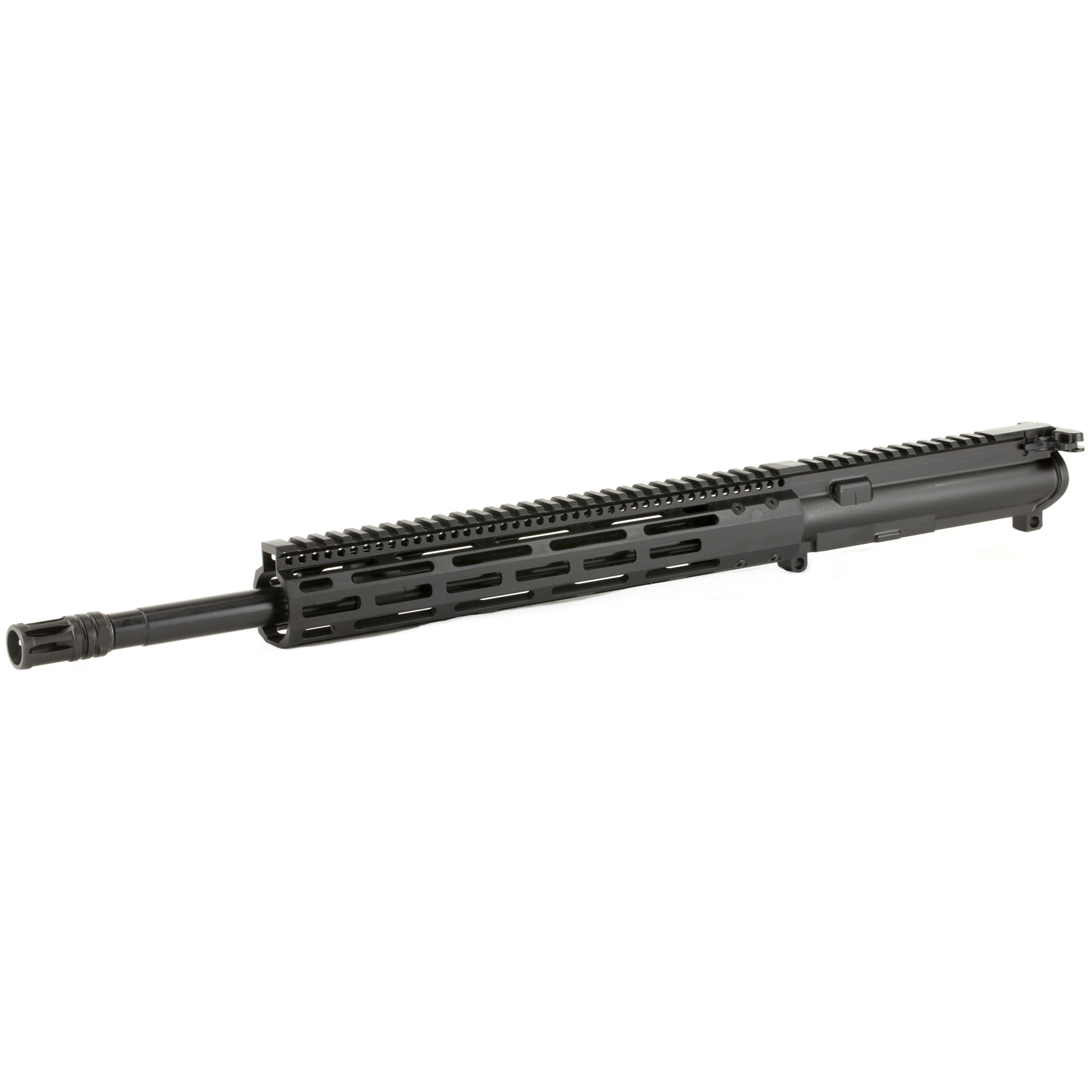 """The Radical Firearms 16"""" Socom profile 5.56mm is a complete MIL-STD upper ready to drop on any MIL-STD lower Receiver. Perfect for the novice or advanced shooter wanting to finish out that build and hit the range. Built with a 12"""" FCR free float rail system for increased accuracy and keeping your hands cool. No matter what your style of shooting is"""" Radical Firearms has you covered."""
