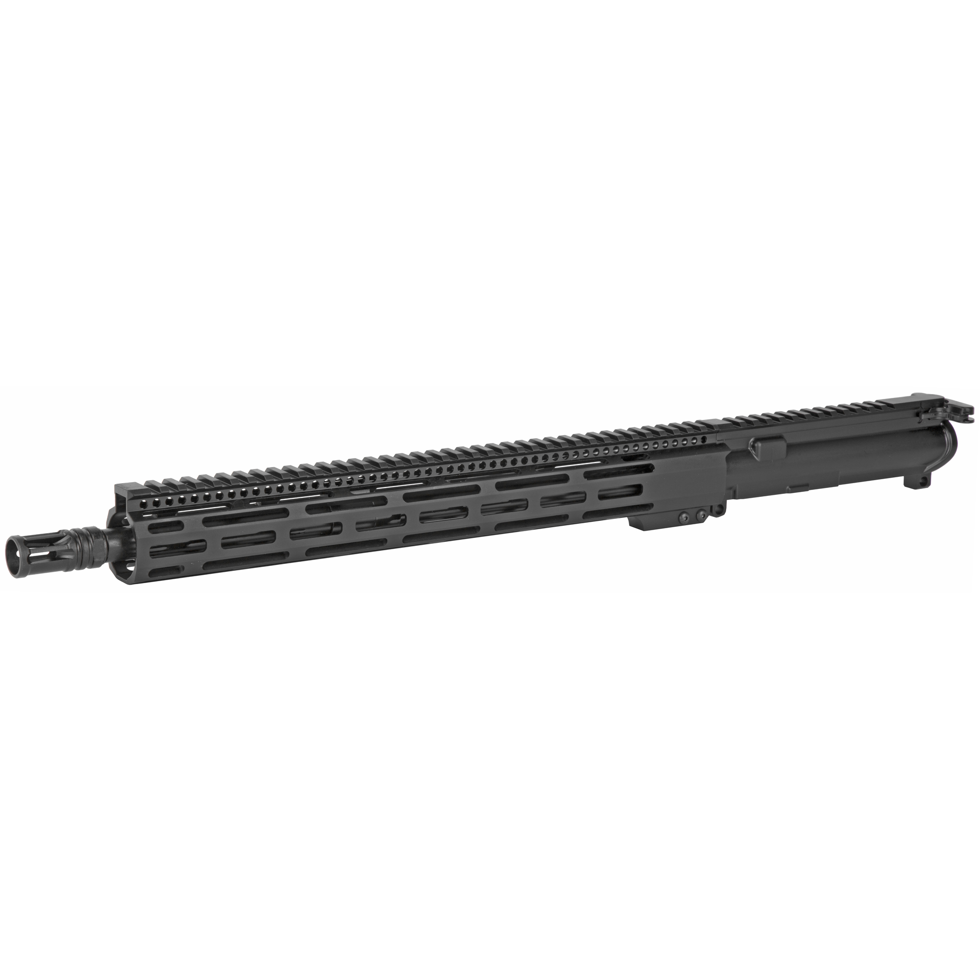 """the Radical Firearms 16"""" Socom profile 5.56mm is a complete MIL-STD upper ready to drop on any MIL-STD lower Receiver. Perfect for the novice or advanced shooter wanting to finish out that build and hit the range. Built with a 15"""" FCR free float rail system for increased accuracy and keeping your hands cool. No matter what your style of shooting is"""" Radical Firearms has you covered."""