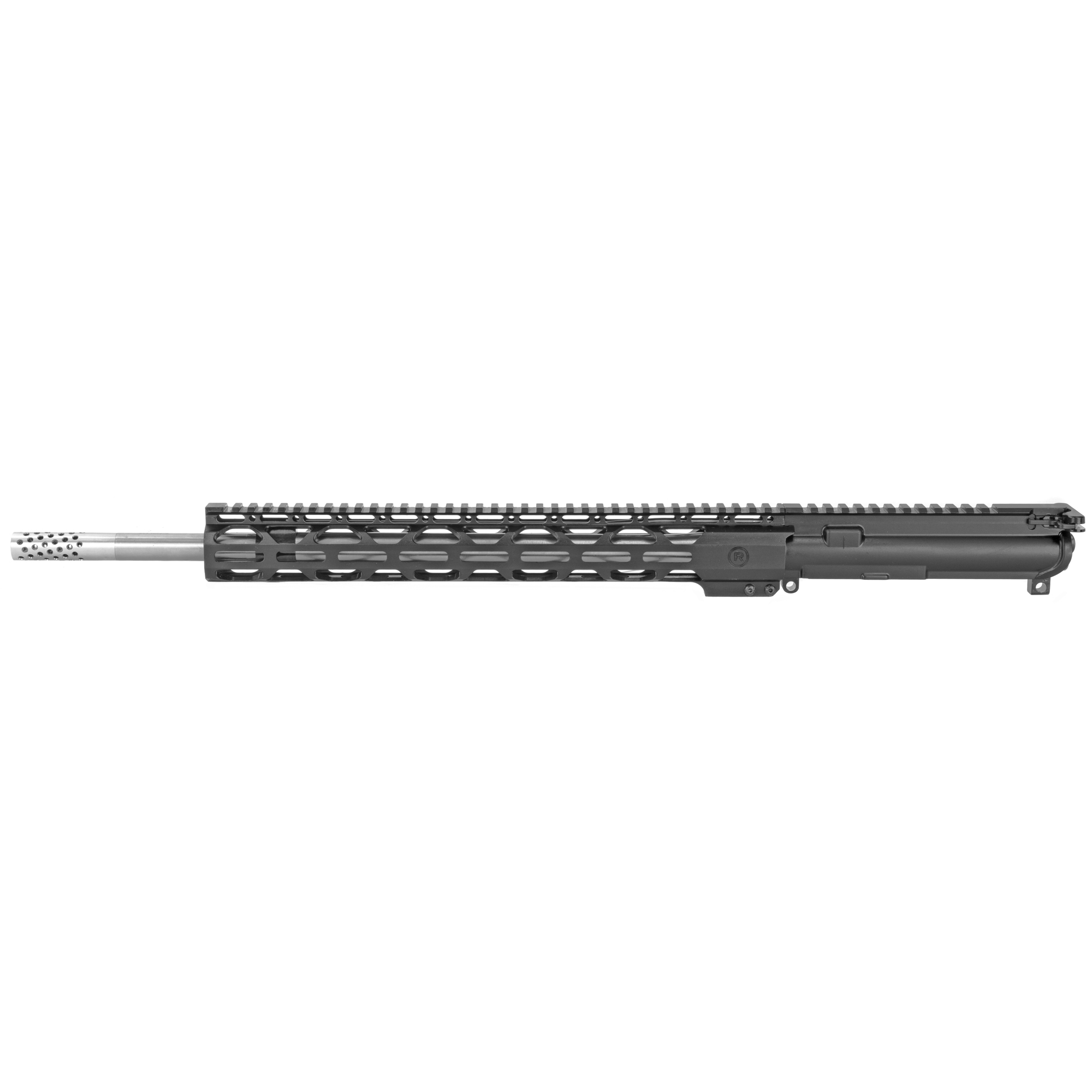 """The Radical Firearms 18"""" Stainless .224 Valkyrie is a complete MIL-STD upper ready to drop on any MIL-STD lower Receiver. Perfect for the novice or advanced shooter wanting to finish out that build and hit the range. Built with a 15"""" RPR free float rail system for increased accuracy and keeping your hands cool. No matter what your style of shooting is"""" Radical Firearms has you covered."""