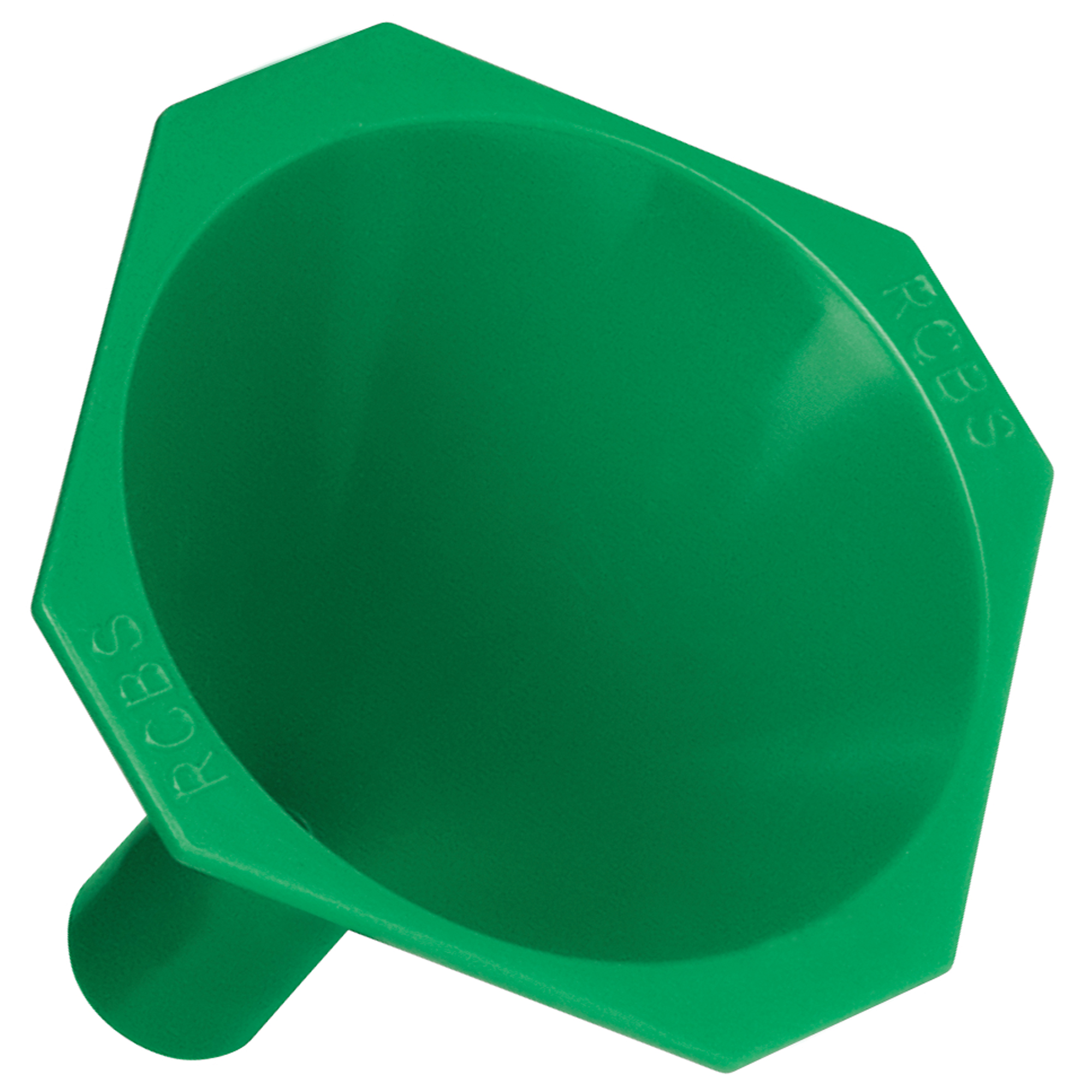 """RCBS(R) has improved upon even the basic plastic funnel. It features a specially designed drop tube to avoid any messy powder spills around case mouths"""" a non-stick"""" anti-static surface"""" and a square lip to keep the funnel from rolling around."""
