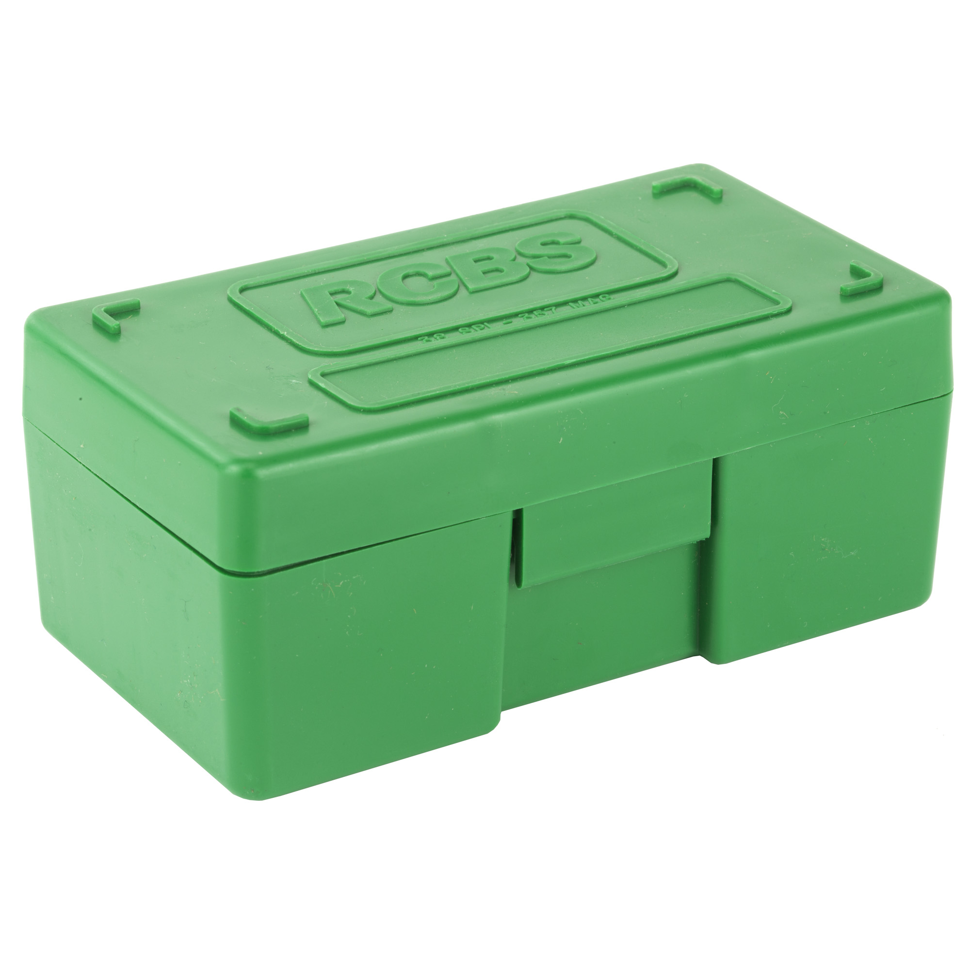 """These tough"""" plastic boxes have flush exteriors with recessed latches. They're designed to stack easily"""" and feature an anti-rattle bullet-tip nest"""" empty case support"""" and long-lasting hinge."""