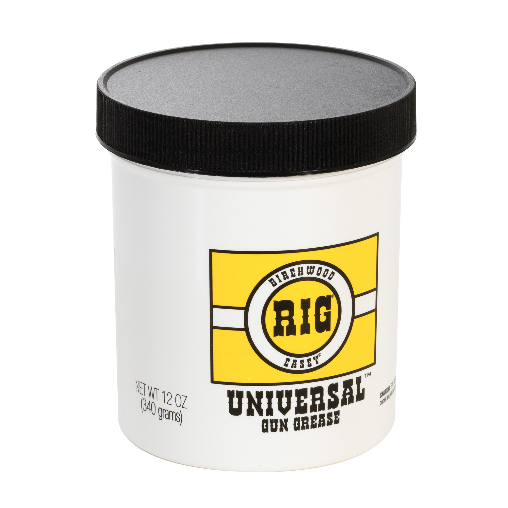 """One thorough application of RIG Universal Gun Grease inside and out will protect your rifle"""" handgun"""" shotgun or muzzleloader against rust and corrosion. RIG Universal Gun Grease is a superior firearm lubricant and preservative."""