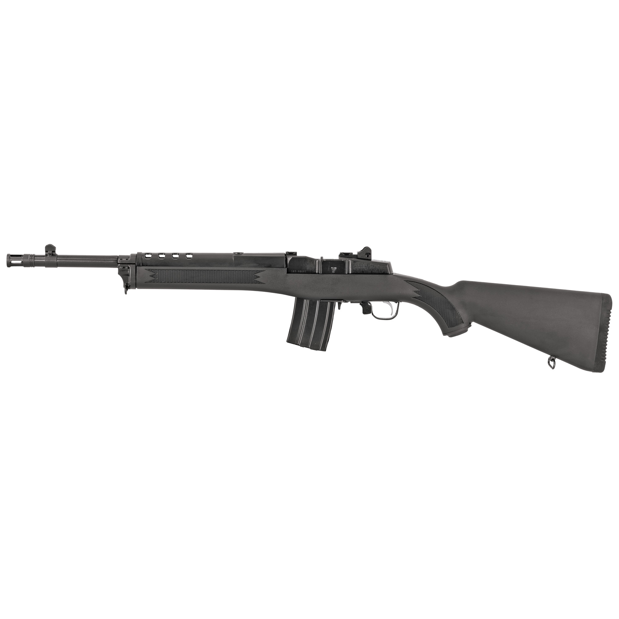 Ruger Mini-14 Tactical 16.1″ 300 Blackout 20Rd Ars & Blade Front – Blue