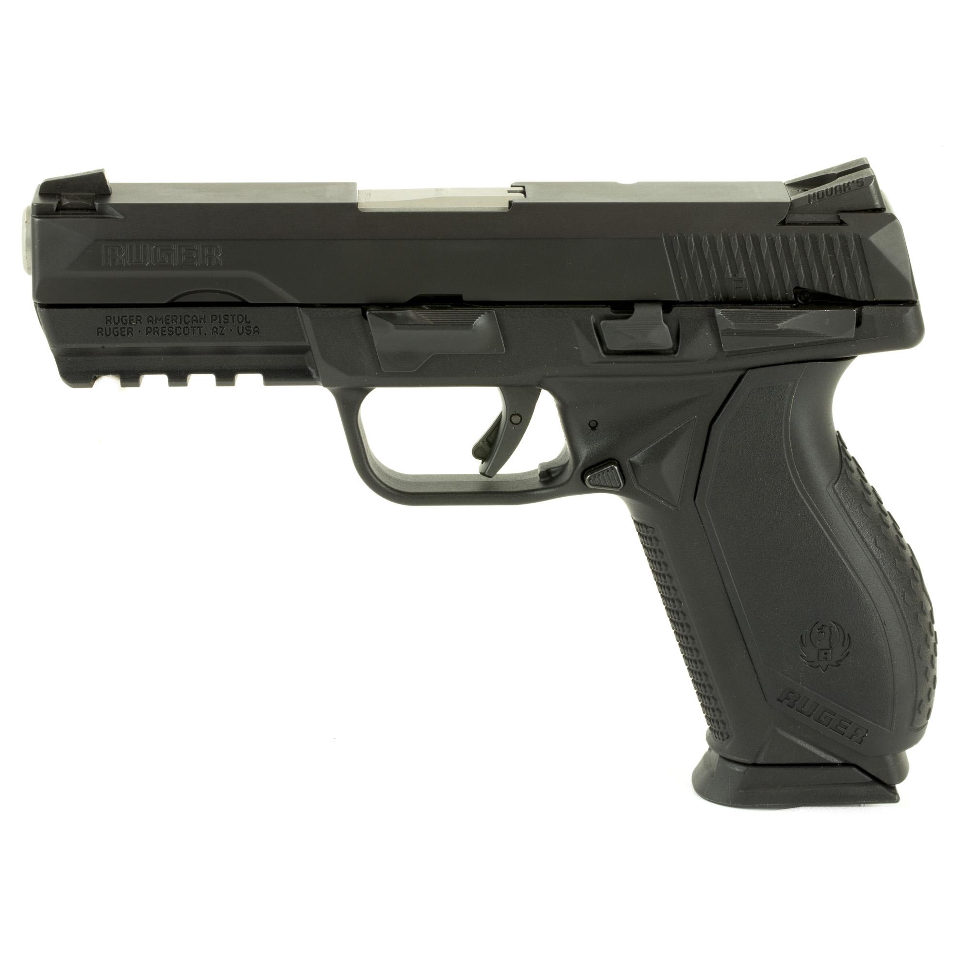 Ruger American Striker Fired 4.2″ 9mm 10Rd Novak Lomount Carry – Black