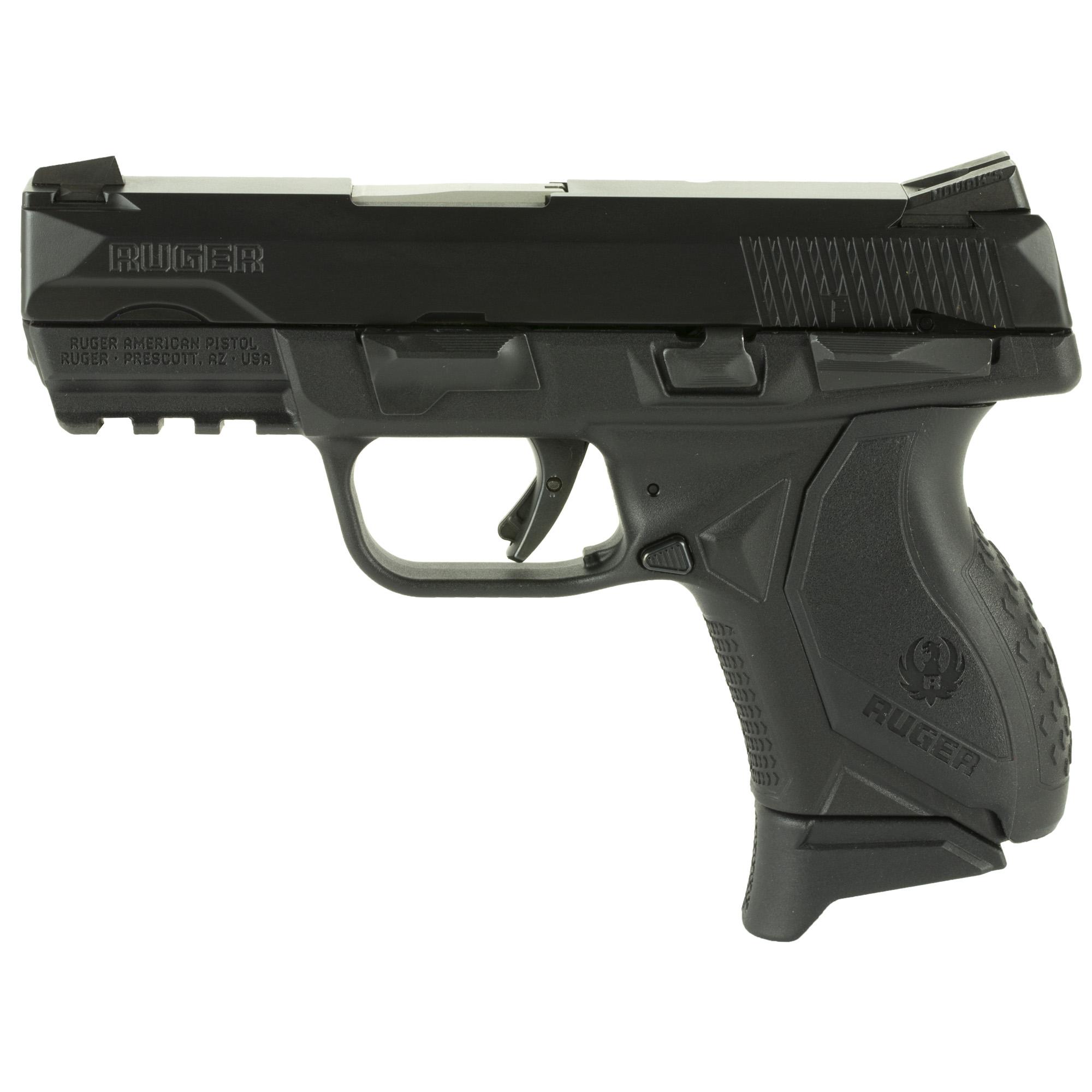 Ruger American Striker Fired 3.5″ 9mm 10Rd Novak Lomount Carry – Black
