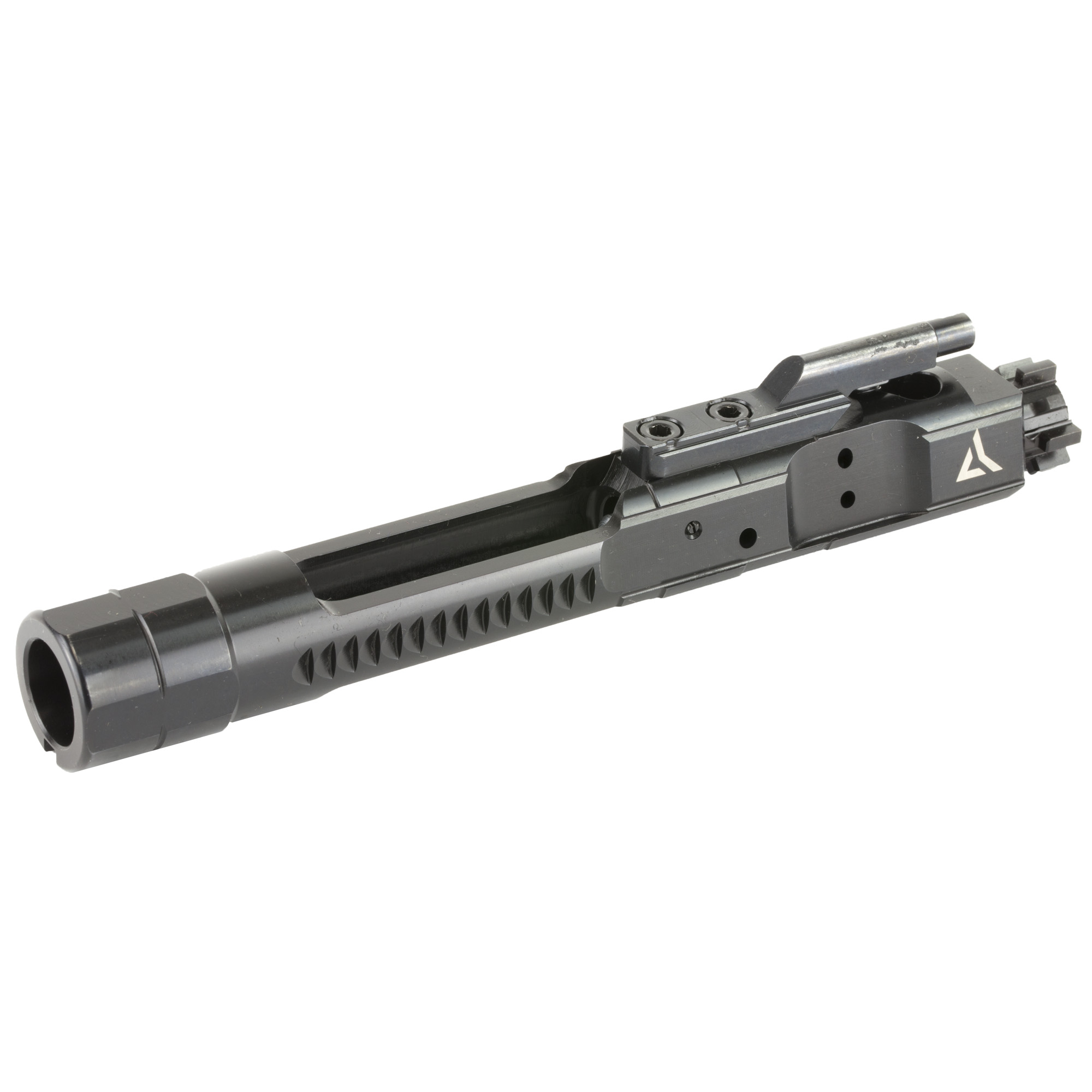 "The Enhanced Bolt Carrier Group for AR15/M16 platform weapons was designed to minimize carrier tilt and reduce friction inside the upper receiver by relocating key bearing surfaces. All materials"" tolerances"" and coatings meet or exceed milspec standards for performance"" reliability"" and durability."