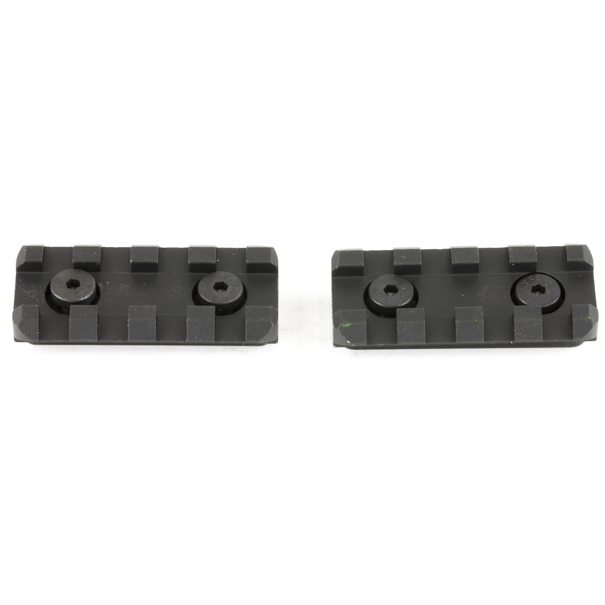 """Evolution accessory rails can be added or removed at any of 7 positions around the rail and any place along the length of the tube. Compatible with Evolution Series only and RTR Series. 2"""" Accessory rail kit includes two rails."""