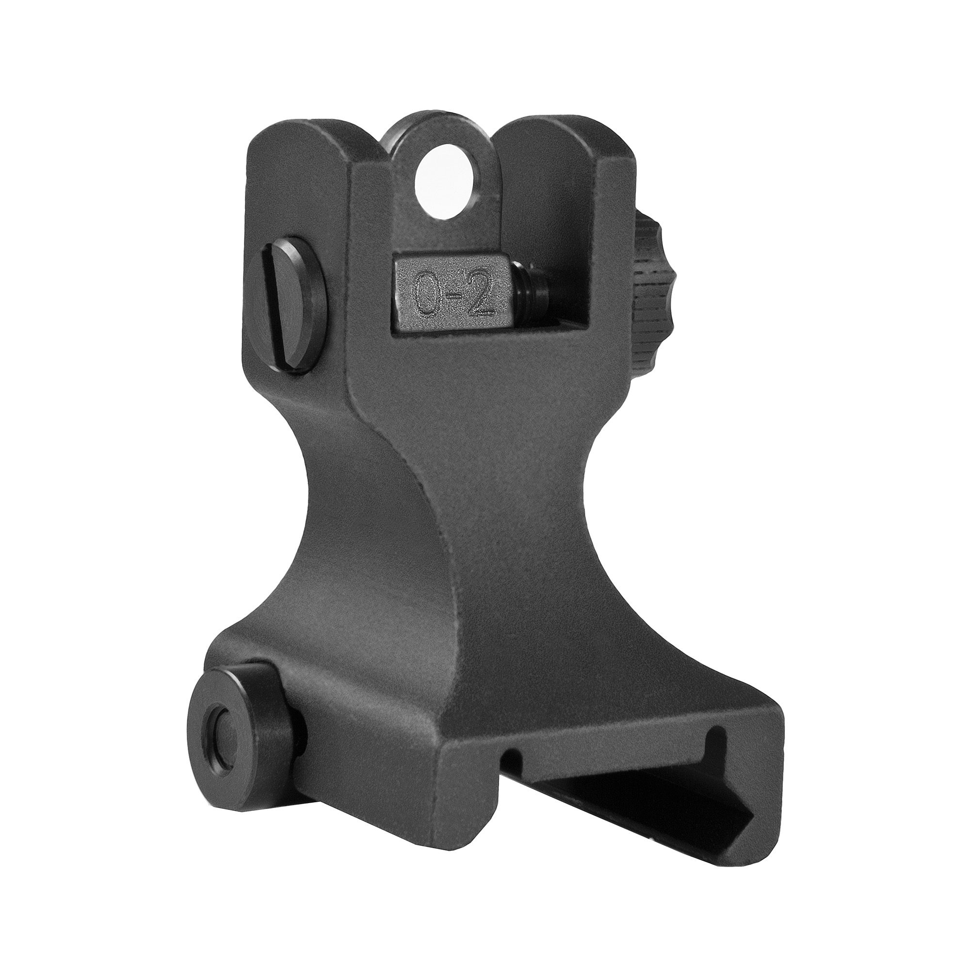 Samson fixed sights are the most robust fixed combat sights on the market. Accepts all aftermarket rear aperture replacements with Mil-spec dimensions. It is not intended for lower height gas block rails. The durable construction and solid mounting system guarantees you to stay on zero.