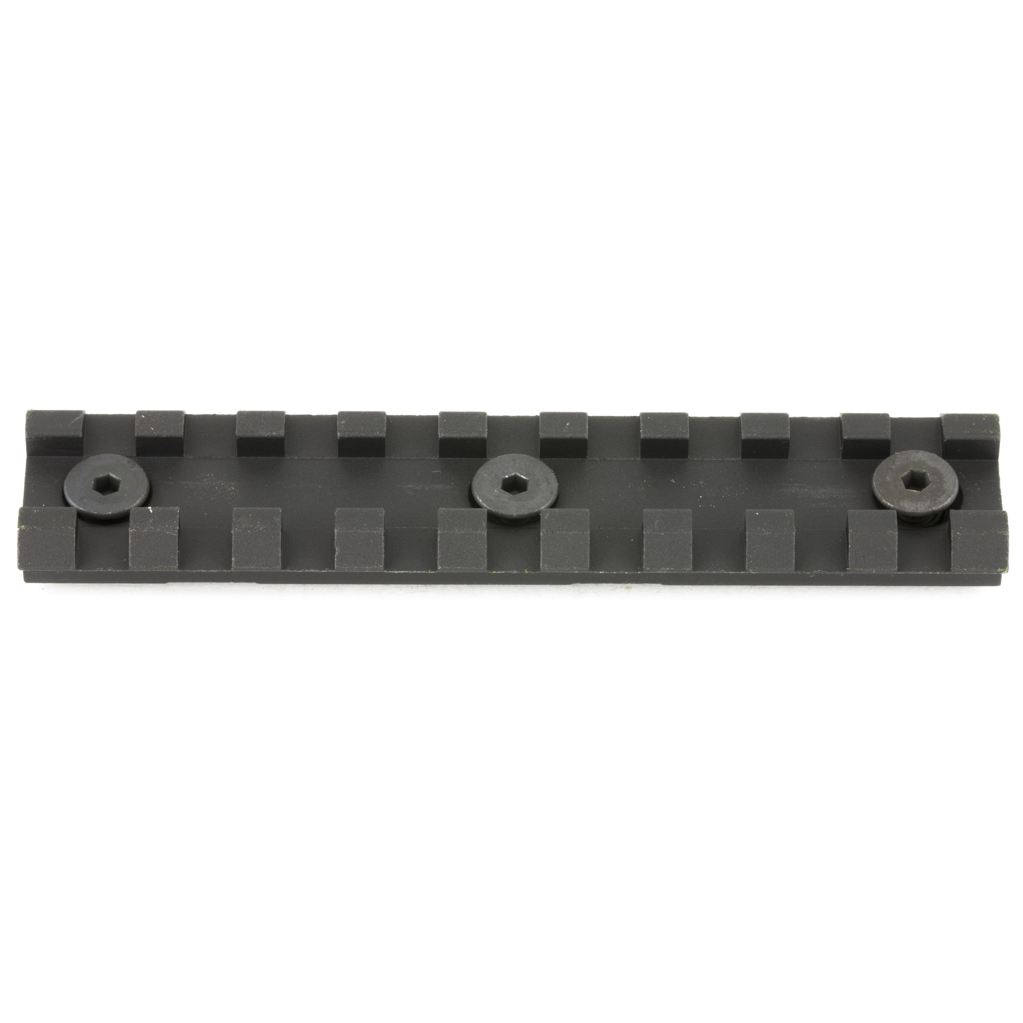 """The Samson 4"""" Picatinny Rail Kit will attach to any standard KeyMod hole. KeyMod Evolution series has slots at the 3"""" 6 and 9 o'clock positions. Includes 1-4"""" rail for Samson Evolution Rails."""