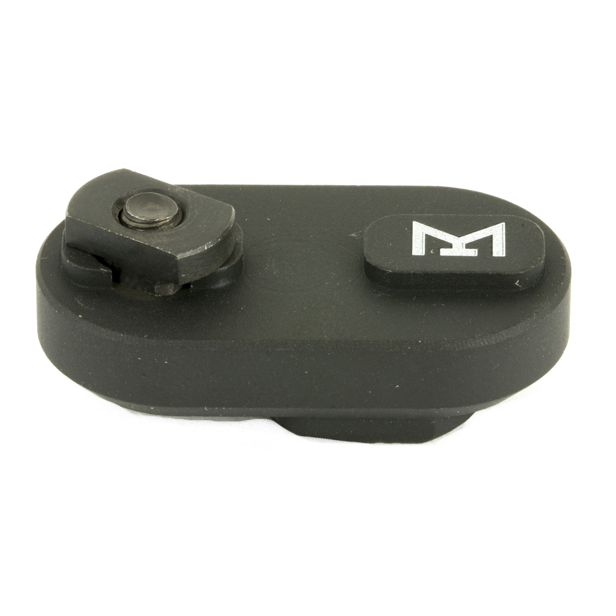 Samson's M-LOK QD Sling Point is compatible with all standard size QD sling swivels. The Samson M-LOK QD Sling Point is designed to M-LOK spec and will attach to any M-LOK attachment point. It features a limited rotation feature that only allows the sling swivel to rotate 90 degrees. The simple and small design reduces the amount of space needed to attach your sling to your handguard. The ML-QD include all necessary hardware for mounting to M-LOK slots and are a great addition to any M-LOK version of Samson handguard.