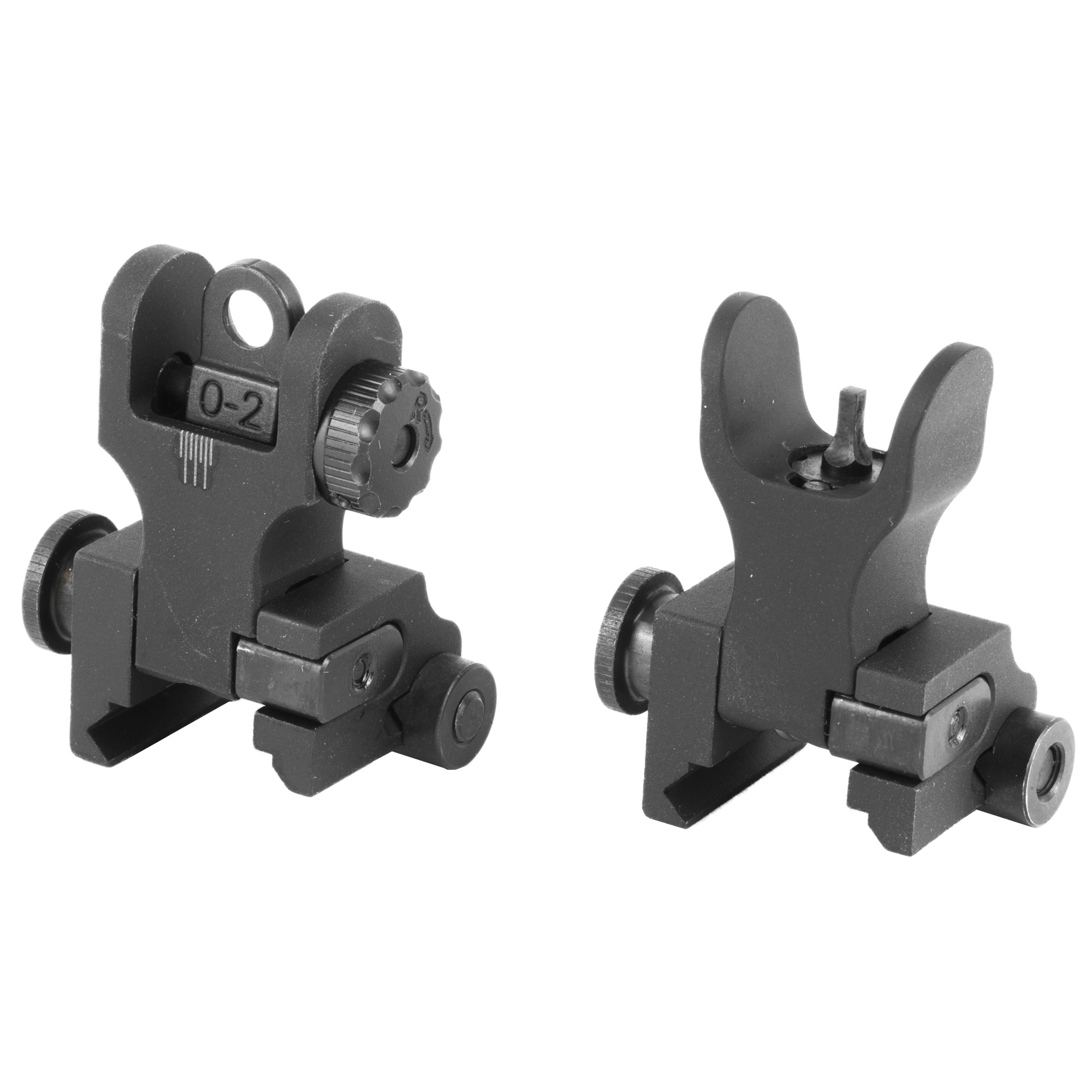 Samson Quick Flip Sights are the most robust combat sights on the market. Accepts all aftermarket rear aperture replacements with milspec dimensions. All sights lock in the deployed position. It is not intended for lower height gas block rails. The durable construction and solid mounting system guarantees you to stay on zero.