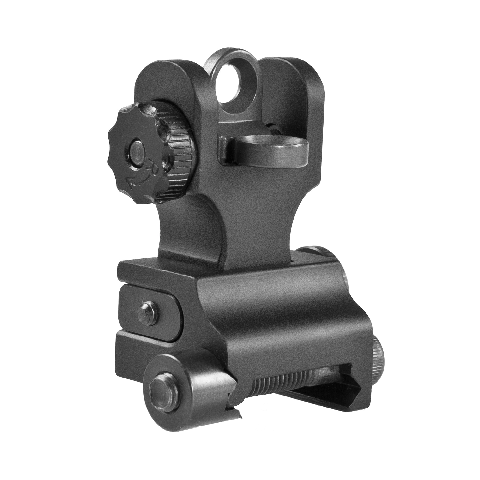 Samson Quick Flip sights are the most robust combat sights on the market. Accepts all aftermarket rear aperture replacements with Mil-spec dimensions. All sights lock in the deployed position. It is not intended for lower height gas block rails. The durable construction and solid mounting system guarantees you to stay on zero.