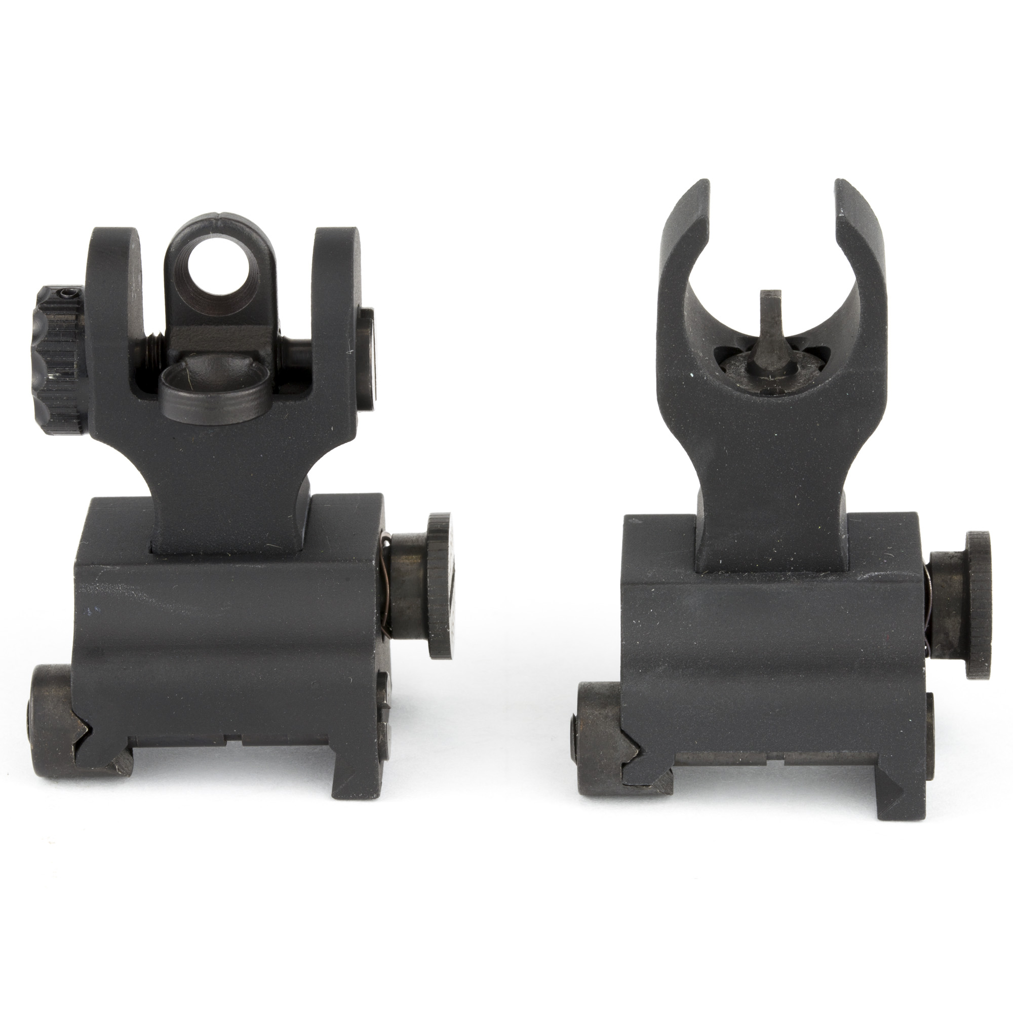 """Samson Manufacturing Corp. Sight Picatinny Black Package Includes Samson FFS HK Front Sight and Samson FRS A2 Rear Sight 6061 Aluminum"""" Mil-Spec Hardcoat Anodized for Durability"""