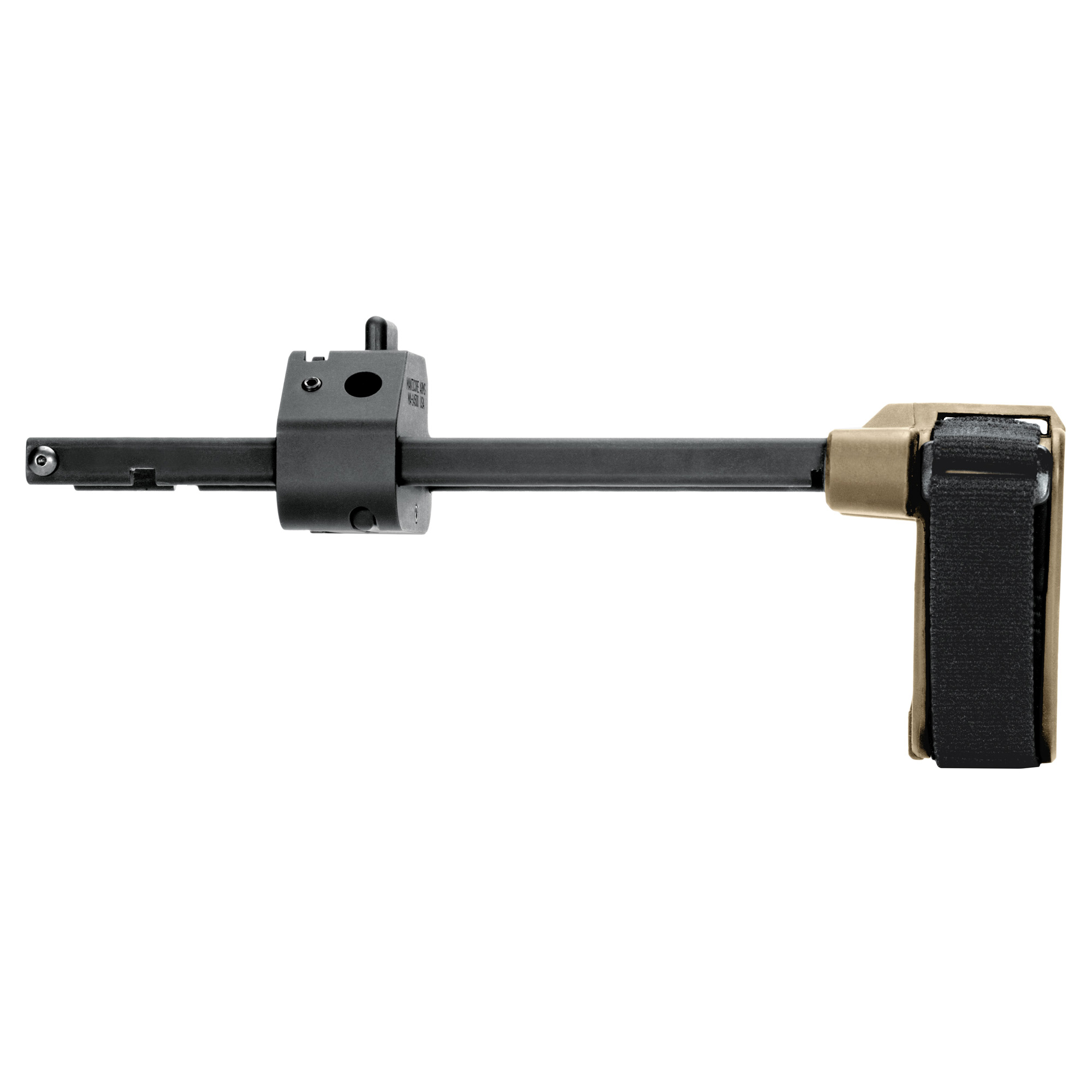 Designed for the CZ Scorpion Evo pistol the CZPDW(TM) Pistol Stabilizing Brace(R) is 3-position adjustable and features a pull-through design allowing you to quickly extend the brace without having to depress the button.