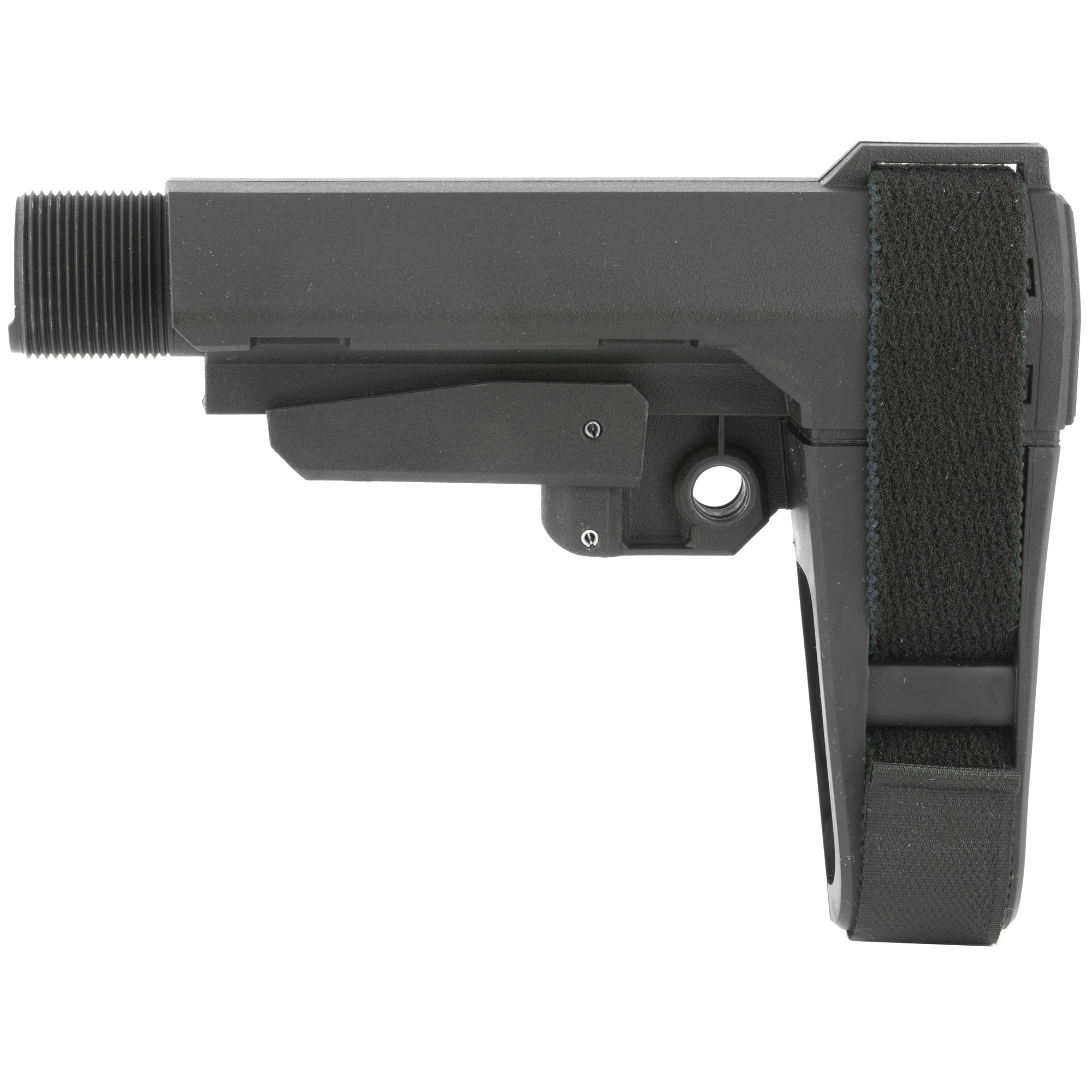 """The SB Tactical SBA3 Stabilizing Brace for AR/M4 is designed for all platforms capable of accepting a mil-spec carbine receiver extension. The SBA3 is 5-position adjustable"""" dramatically enhances versatility"""" and features a minimalist design with an integral"""" ambidextrous QD sling socket."""