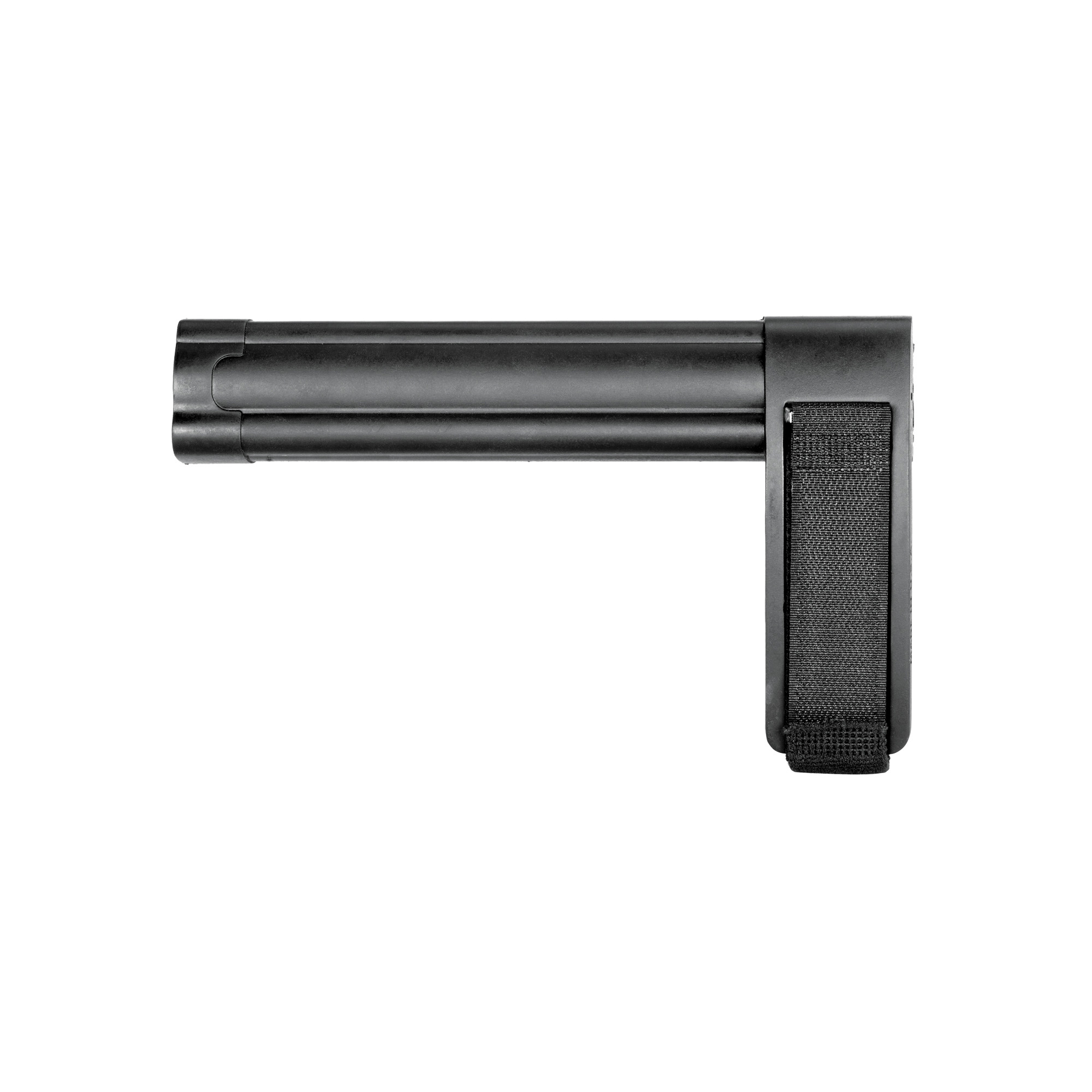 """The SBL is the lowest profile"""" full cavity Pistol Stabilizing Brace available. The minimalist design adapts to AR and AK host pistols"""" as well as many specialty platforms. US veteran designed and proudly made in the USA"""