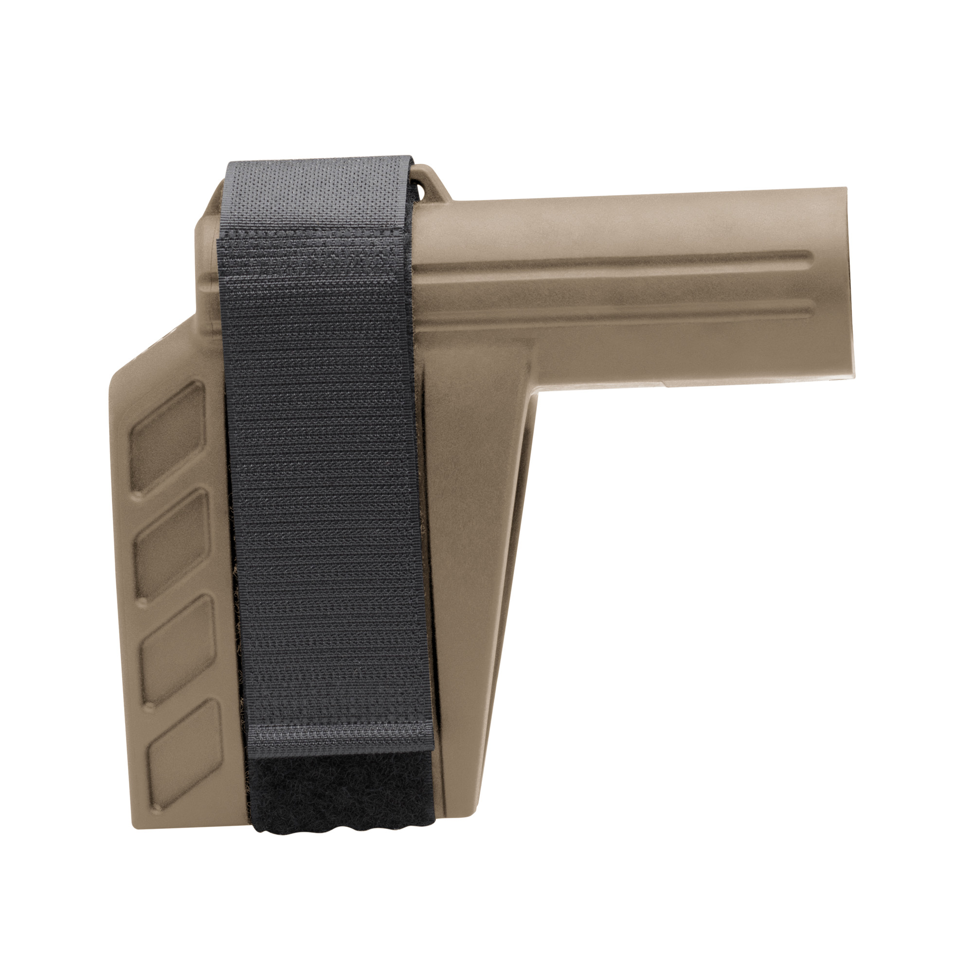 """The SBX-K Pistol Stabilizing Brace(R) is the shorter version of the original SBX(TM). Lower profile"""" less real estate"""" same outstanding performance. Includes an adjustable nylon strap."""