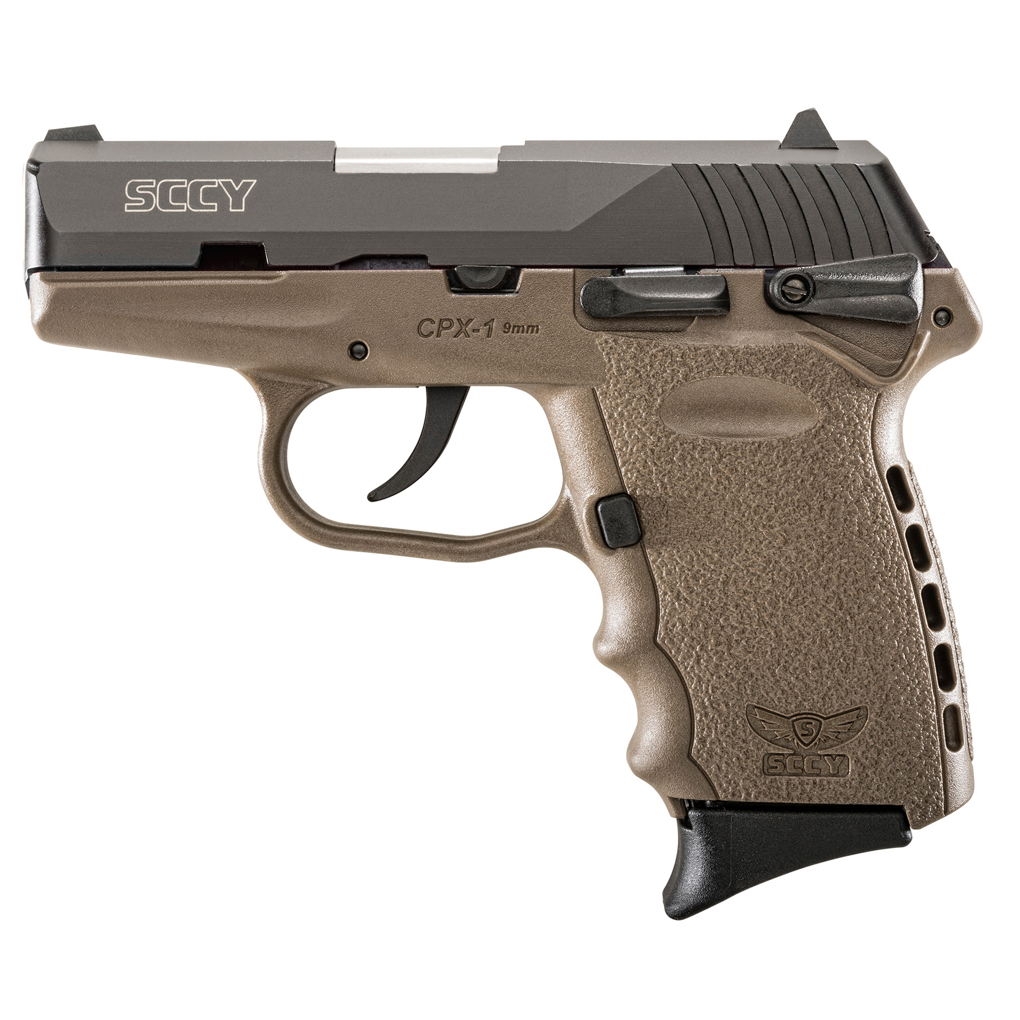 SCCY's CPX Series of 9mm pistols bring revolutionary design changes to the already proven quality of these made in the USA firearms. These pistols are custom designed with the comfort and accuracy of the shooter in mind. The CPX Series delivers the legendary durability and quality of SCCY Firearms at an extremely attractive price. It is the ideal handgun for concealed carry.