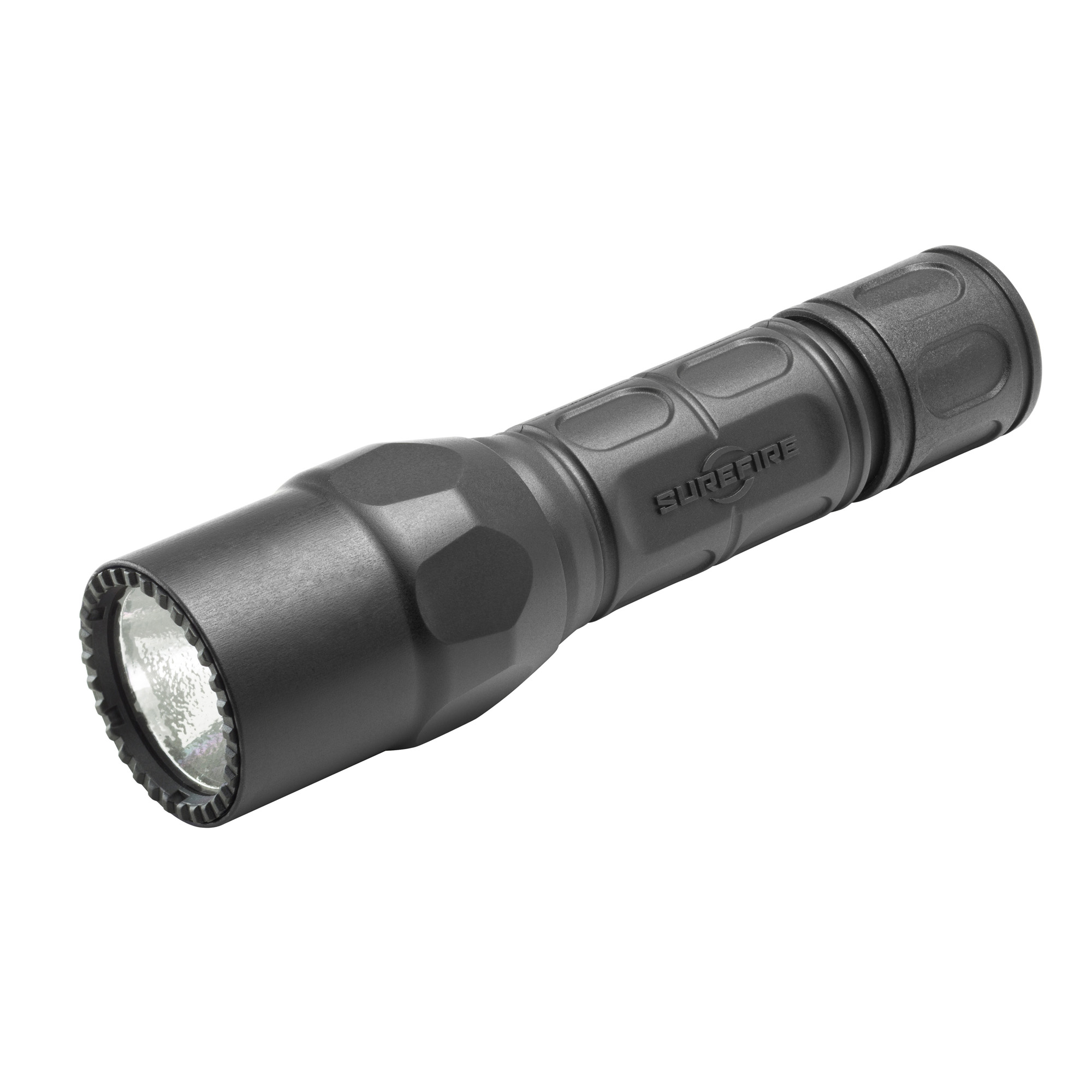 """SureFire's G2X(TM) LED illumination tools share many features"""" such as virtually indestructible high-efficiency LED emitters"""" 600 lumens of maximum output"""" precision reflectors"""" and sleek Nitrolon(R) polymer bodies. Their differences let you select the ideal light for your needs. The G2X Tactical provides a single output level - a brilliant"""" penetrating 600-lumen beam. It features a lightweight"""" high-strength Nitrolon(R) polymer body that's comfortable to hold in cold weather. The G2X Tactical comes with a press/click tail cap switch"""