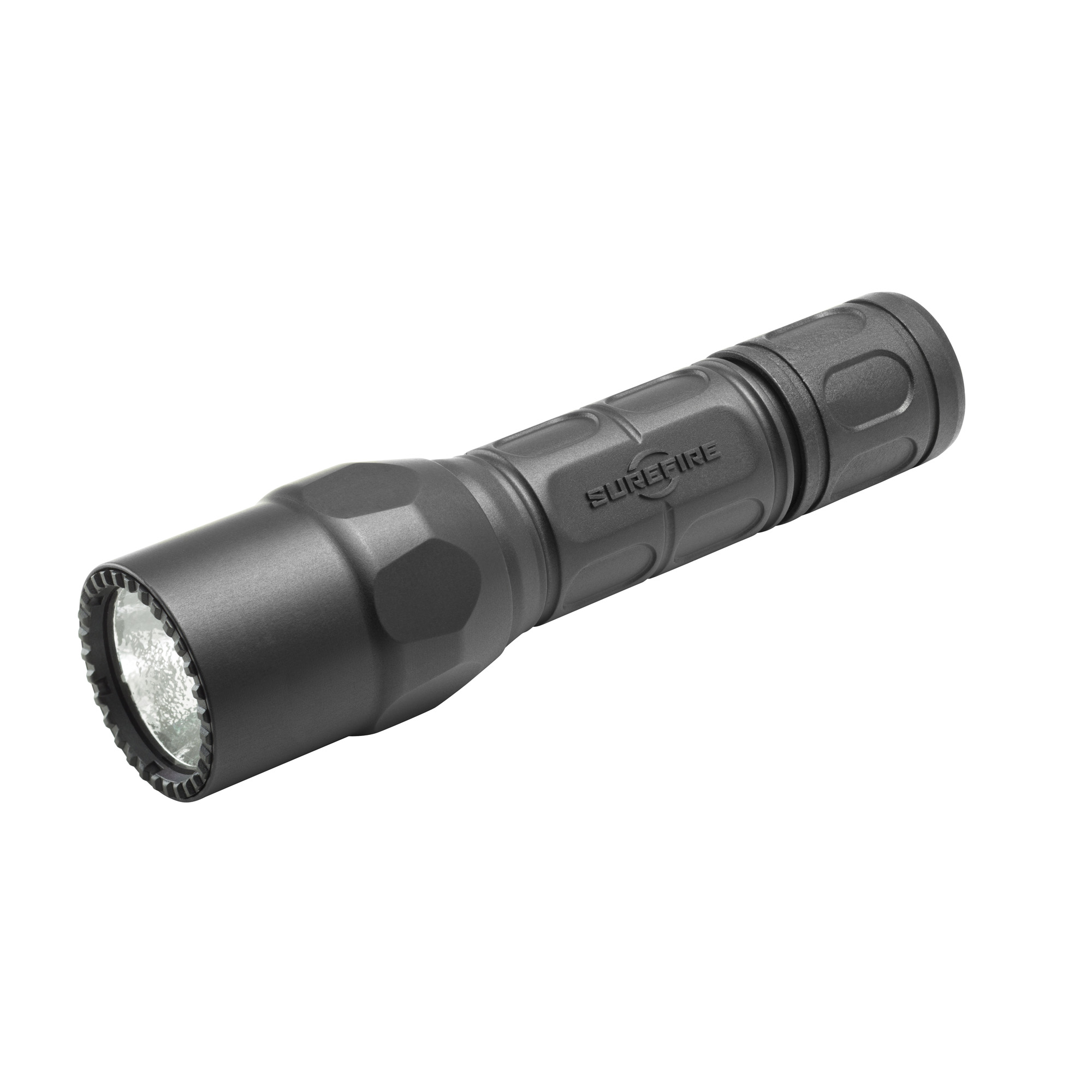 """The G2X Pro is a compact yet powerful polymer-body flashlight that uses a high-efficiency LED-virtually immune to failure since there's no filament to burn out or break-to provide two light output levels: a brilliant"""" penetrating"""" perfectly pre-focused 320-lumen beam"""" and a 15-lumen low-output setting that lets you greatly extend the runtime per set of batteries"""" an invaluable option when you find yourself miles from civilization. Press the tail cap switch for momentary-on low"""" press further to click constant-on low"""" return to off and press or click on again within two seconds for high. The tough Nitrolon(R) polymer body is smoothly sculpted for a comfortable"""" secure grip and resists scratches"""" abrasion"""" and corrosion. A polycarbonate micro-textured reflector delivers a comparatively wider beam with generous peripheral light."""