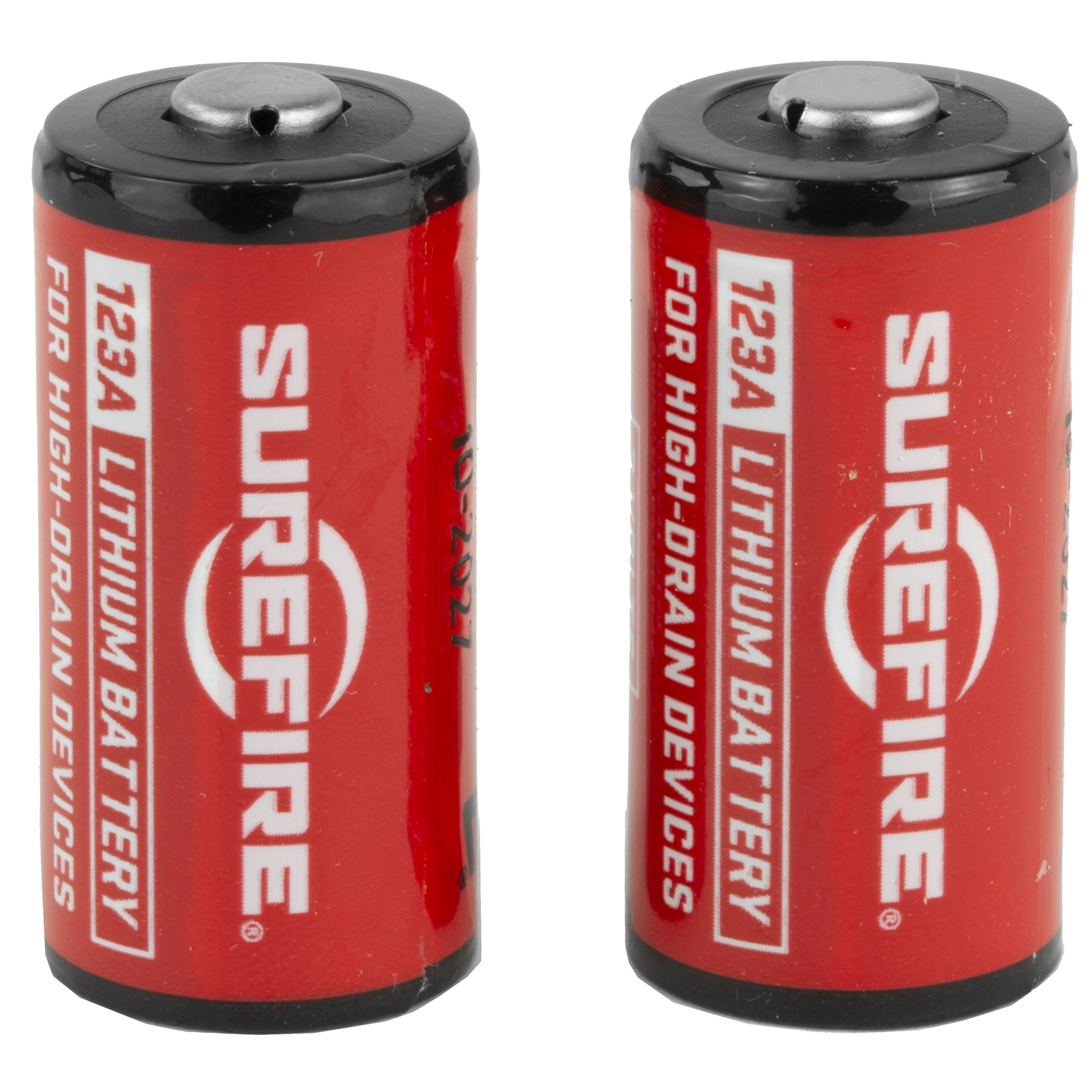 """Optimized for use in SureFire flashlights"""" SureFire lithium batteries pack a lot of power into a small package. And unlike alkaline batteries SureFire high-performance lithium batteries boast a ten-year shelf life"""" which means they will be ready when you need them"""" every time."""