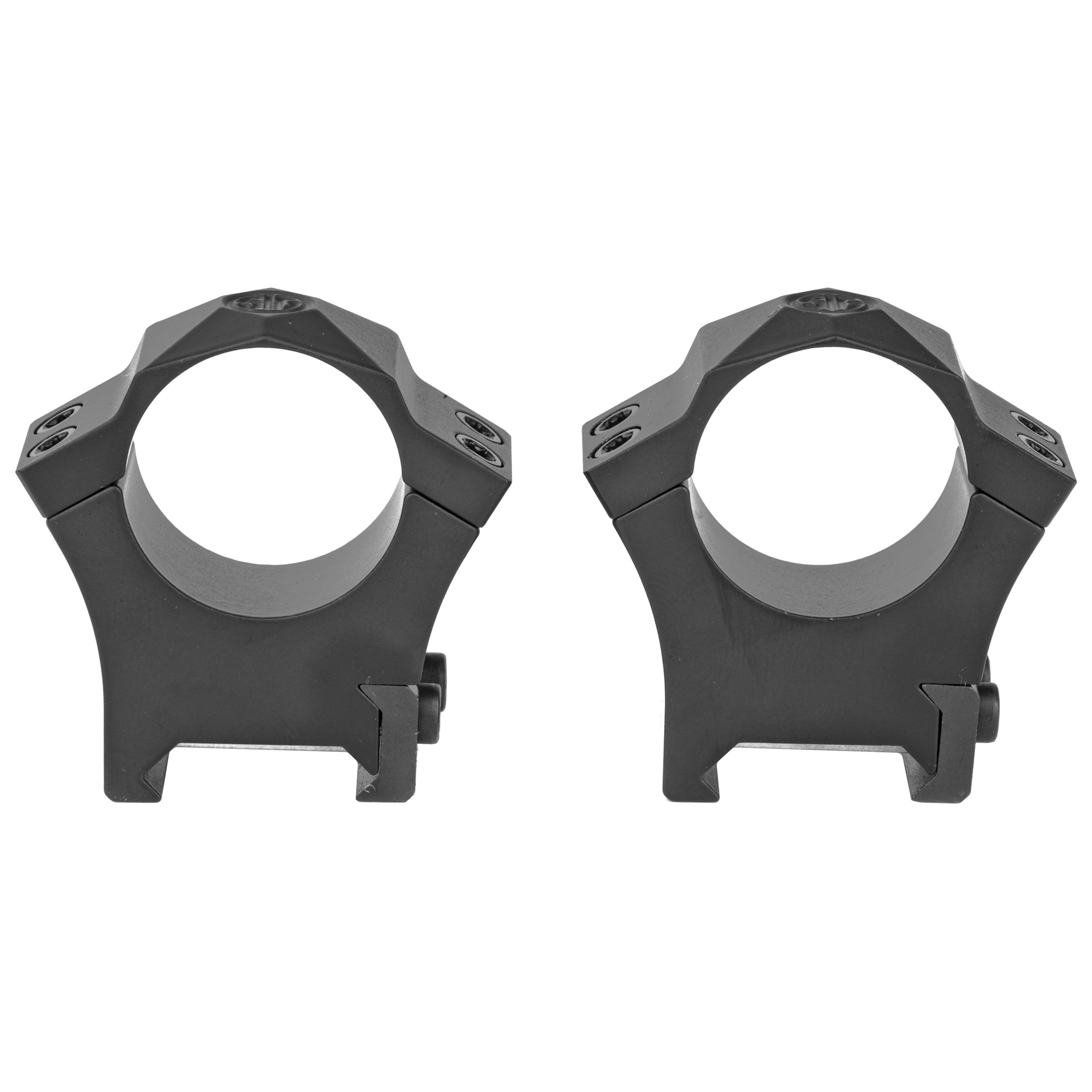 "Sig's proprietary steel alloy ALPHA Hunting Rings are machined with an exactness that is both strong yet ductile that allows their rings to form around a riflescope"" yet will not damage scope under proper installation. The steel rings are epoxy powder coated to prevent oxidation and resist gun oils"" cleaning solutions"" and outdoor exposure."