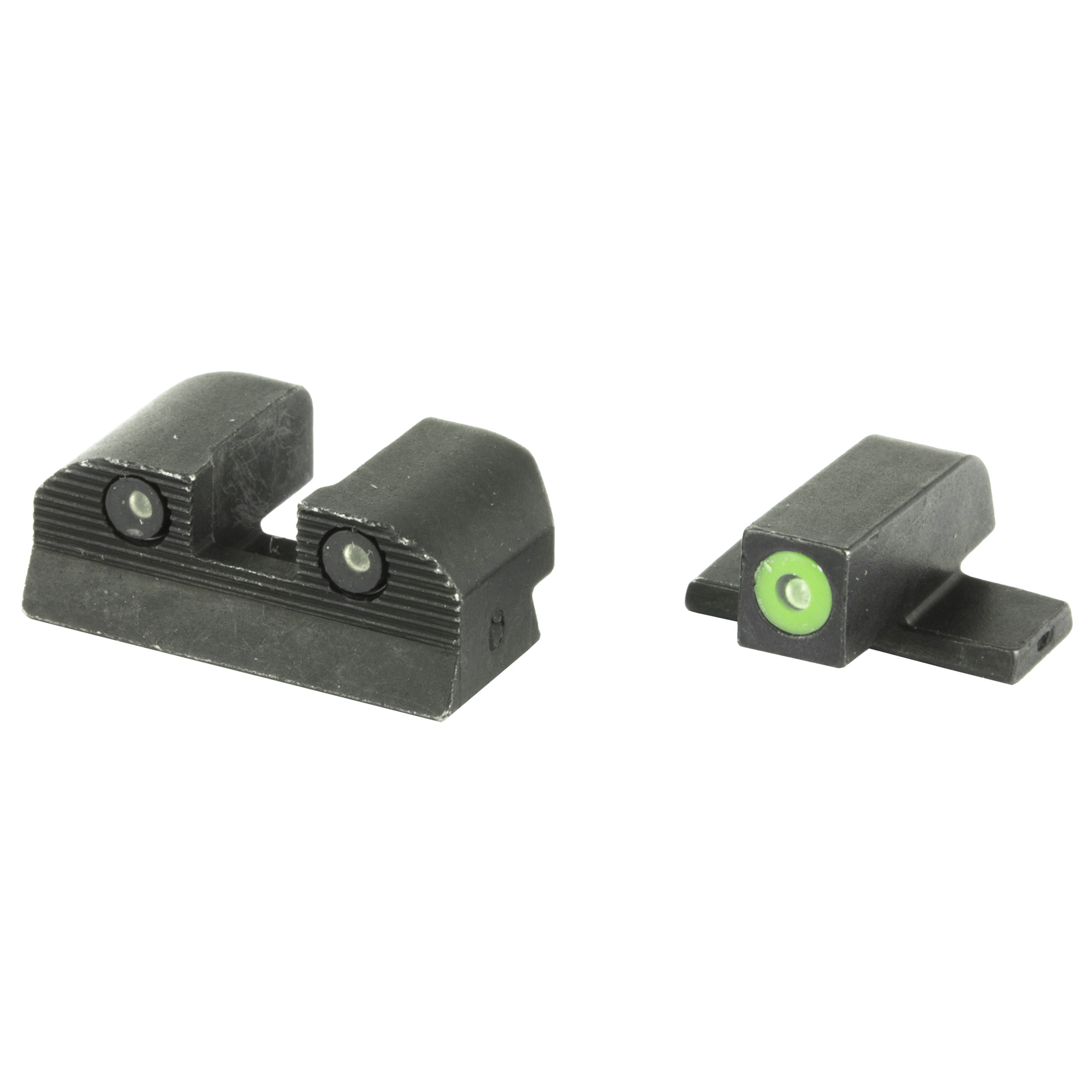 "Compare the X-RAY3 to other conventional sights and you will see the blacked-out rear sight and the high contrast front sight of the X-RAY3"" make target acquisition intuitive and fast and in any light condition. This 3-Dot tritium system has a superior glowing illumination in low-light and remains bright and white for daylight conditions. No more changing sights from night to day patrols"" keeping your sights consistent for all your work or hunting light conditions. The steel surrounds the tritium sights and gives them protection from recoil and protects from cleaning solvents and the harsh elements. Whether you carry for work or for sport"" these X-RAY3 tritium sights will be bright for over a decade and the tested design of the X-RAY3 will stay at max performance."