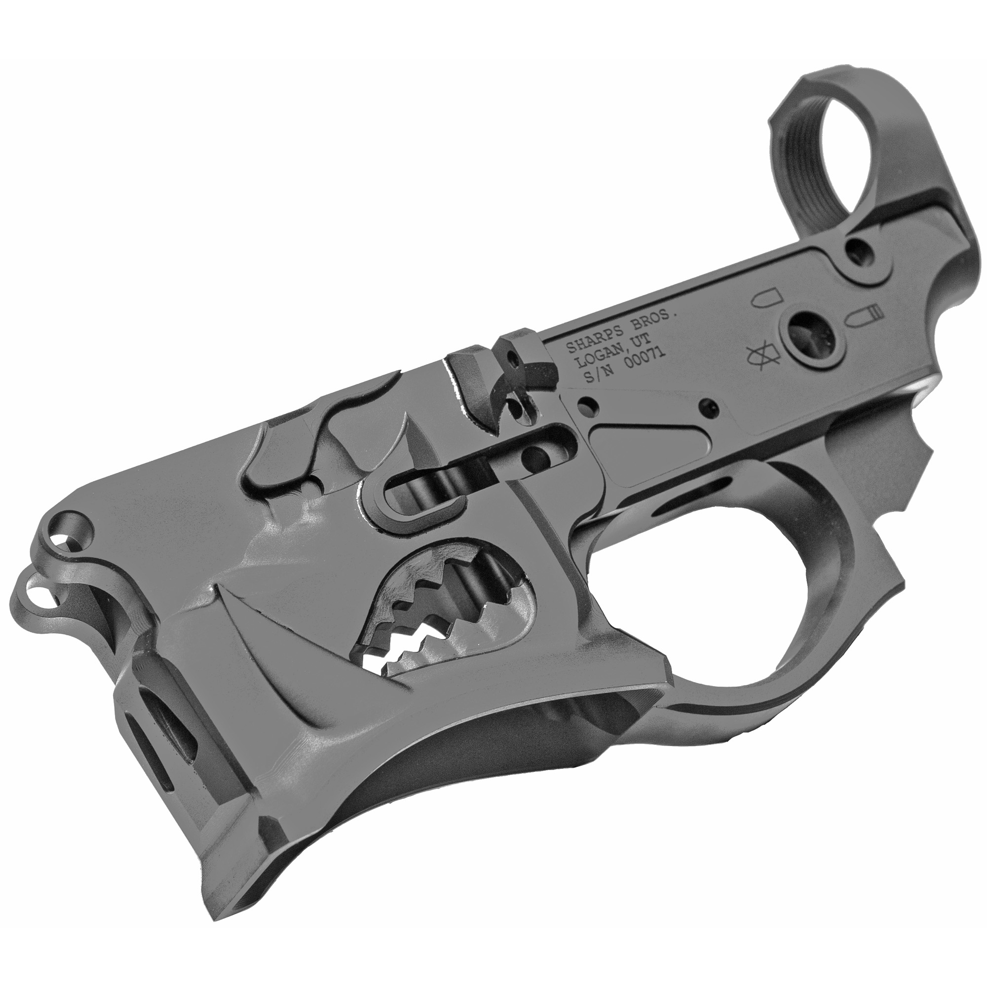 """The Warthog Gen2 features now include a threaded bolt catch pin"""" reduced weight and improved styling - and lower costs to you. Warthog's design is inspired by the A-10 Warthog aircraft."""