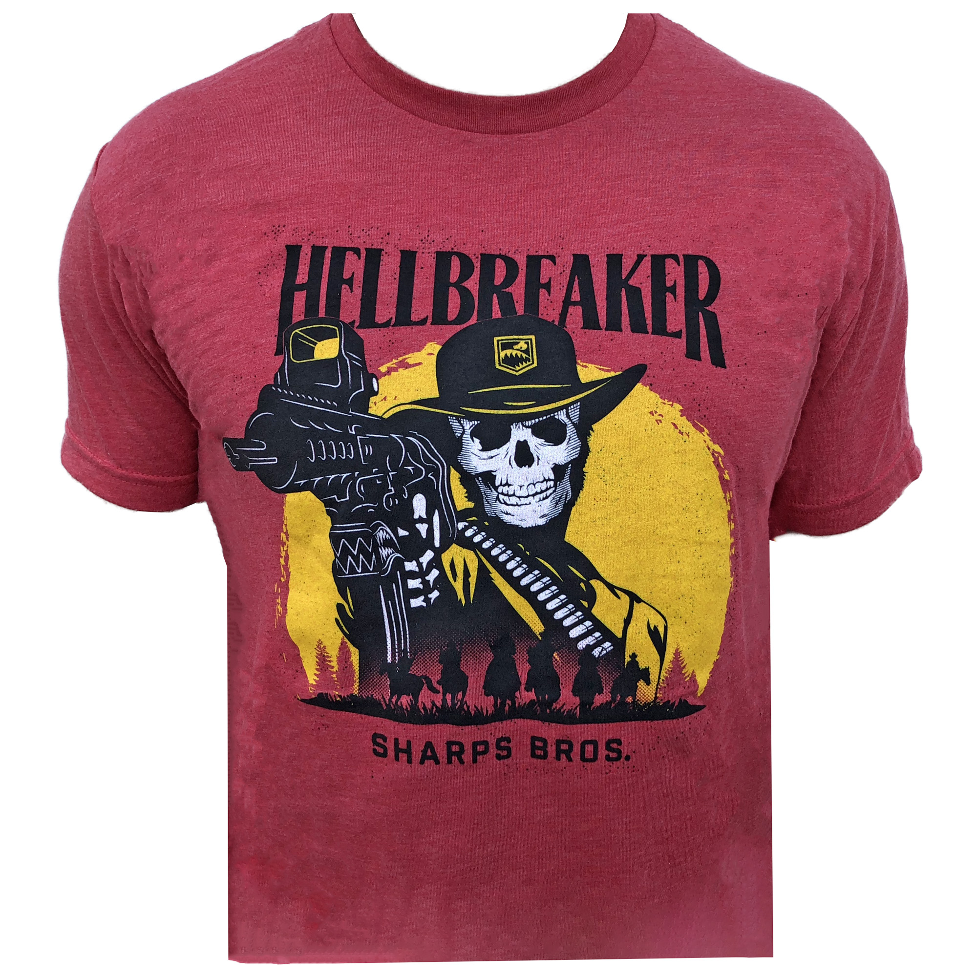 Sharps Bros T-shirts feature an athletic cut that uses combed cotton for a soft feel.