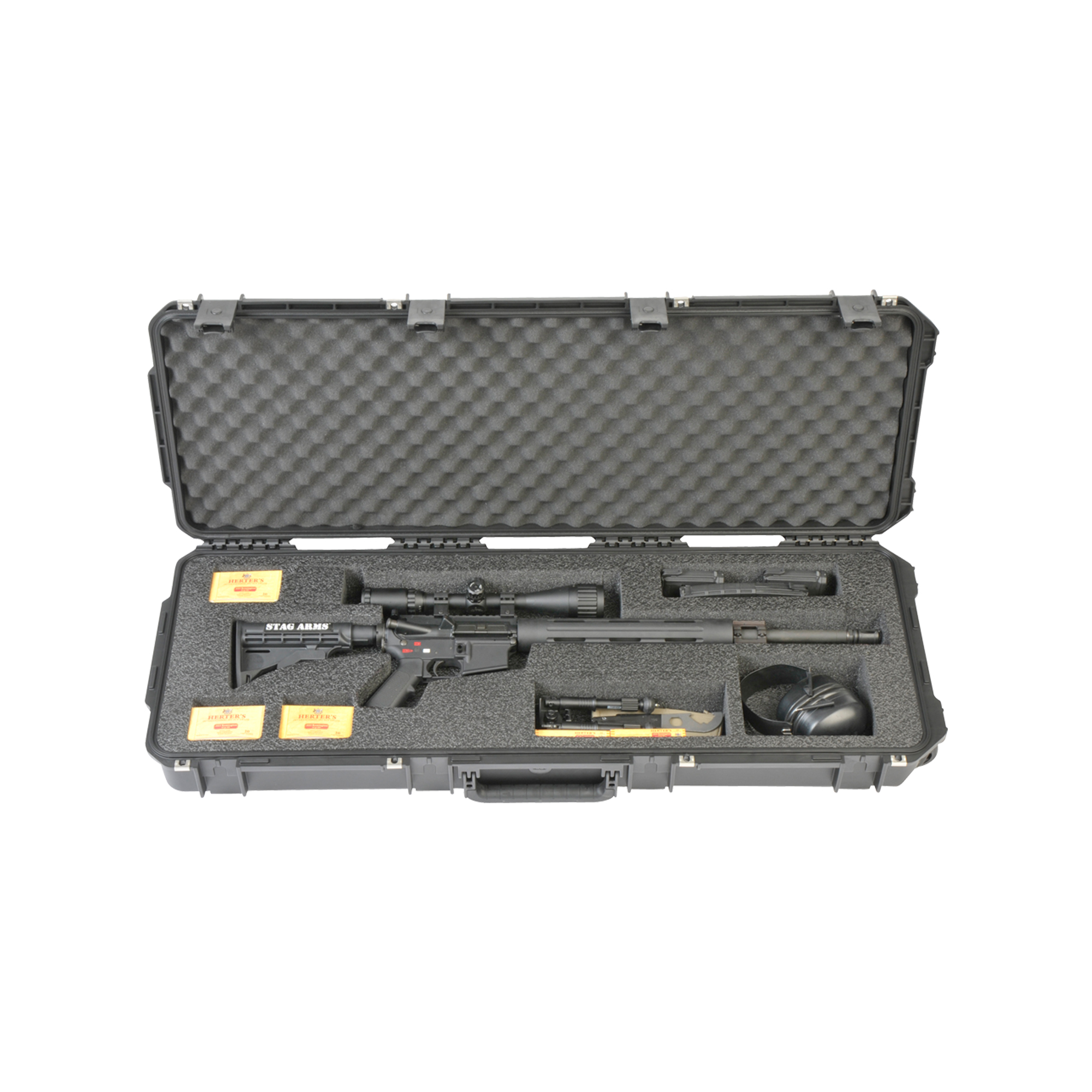 """SKB is recognized globally as an industry leader in the design and manufacture of molded polymer transport cases. SKB cases are engineered to provide protection for equipment utilized by hundreds of companies involved in diverse industries from music and pro-audio products to military"""" industrial and medical applications."""