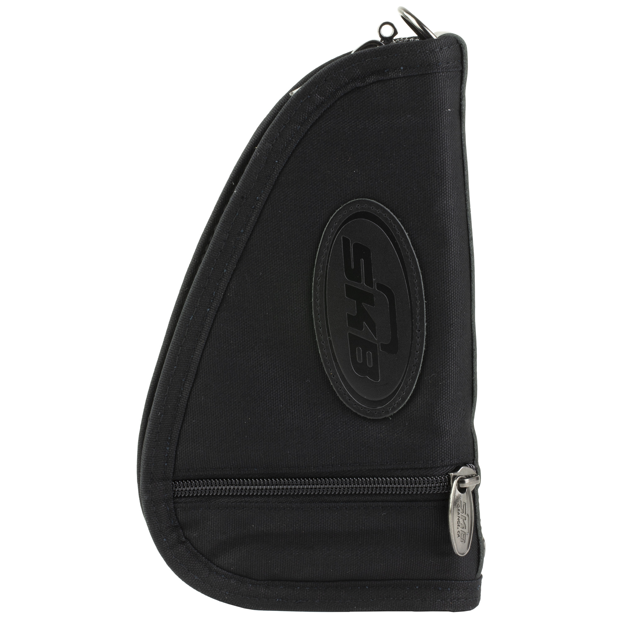 """The SKB Dry-Tek Handgun / Pistol Bags feature the patented """"Dry-Tek Difference"""". The two-layer padding will work in tandem to draw moisture from the inner bag. The inner pad layer enables water to pass through to the outer layer where a remarkable one-way laminate membrane applied to the outer layer allows water molecules to exit the bag"""" but not to enter. The result"""" your gun stays dry!"""