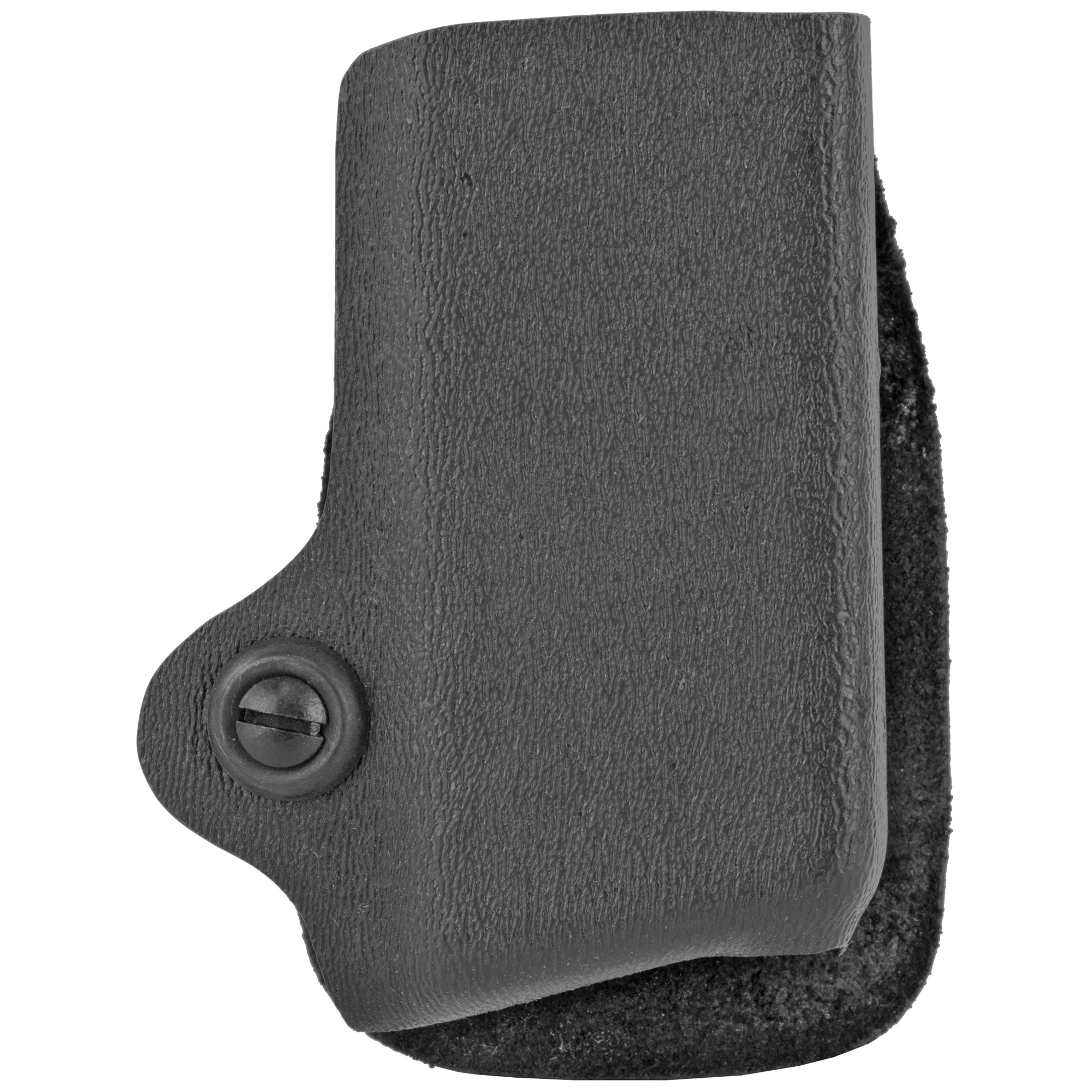 "The 074 Magazine Pouch features a paddle design for easy on/off convenience. Thermal molded SafariLaminate(TM) construction combined with the molded polymer paddle make this one of the best pouches for concealment use. It has an adjustable tensioning device that allows the user set the exact amount of friction required to remove the two magazines. It will fit belts up to 1.5"" (38mm) wide."