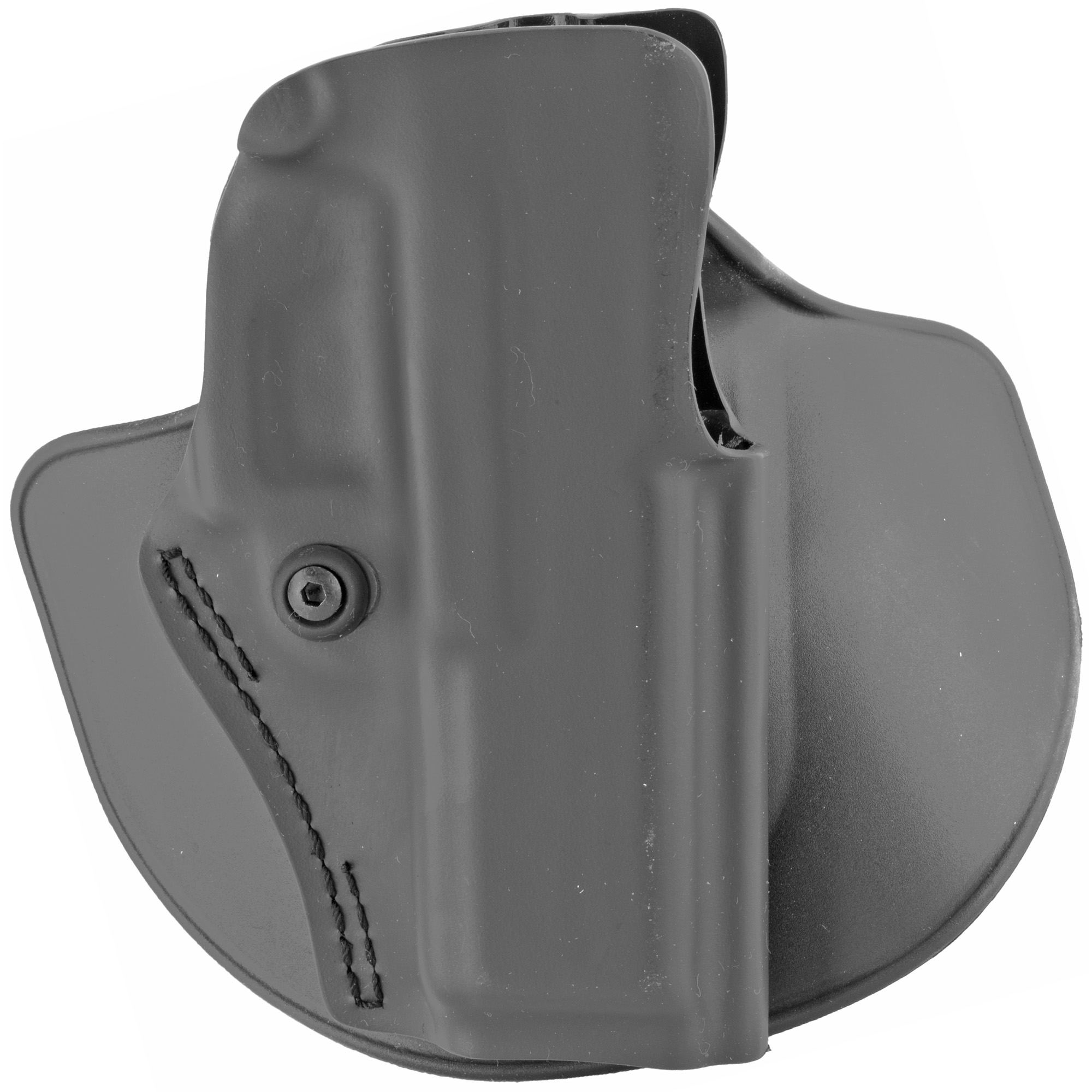 "The Safariland Model 5198 holster is lightweight"" with low-cut sides allowing for an easy draw"" and an open-top designed for defensive pistol competition. The holster is also well suited for concealed carry due to its compact size. A trigger guard detent and adjustable tension device secure the gun in the holster during rigorous activity for reliable carry retention. Durable thermoformed SafariLaminate(TM) construction makes this holster tough enough for constant wear"" and the STX finish keeps it looking good through years of use. The 5198 comes with both injection-molded paddle and belt loop"" so you can attach and adjust carry for comfort and to match your needs. The Model 5198 open-top concealment holster is IDPA and USPSA approved."