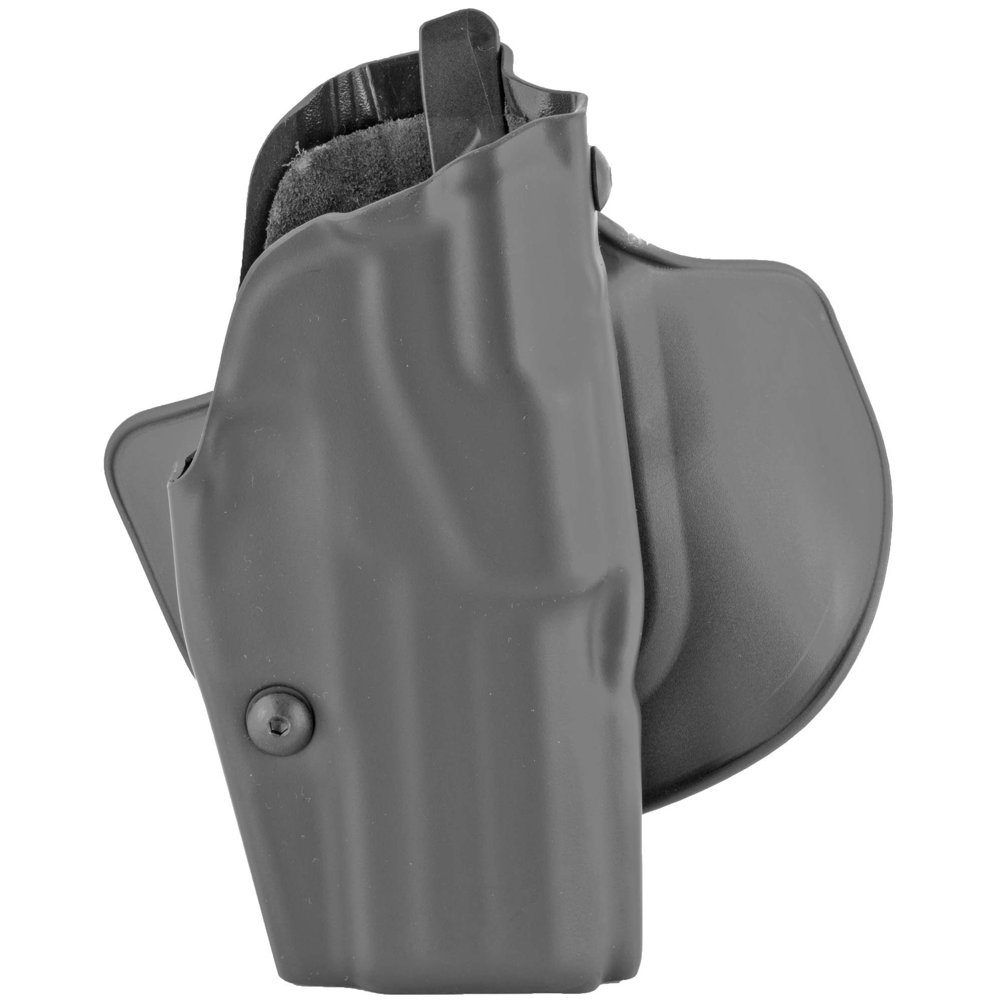 "This concealment belt slide holster with ALS(R) (Automatic Locking System) secures weapon once holstered. Simple straight up draw once release is deactivated. Open-top design without SLS for quick retrieval of weapon. Constructed of SafariSeven(TM)"" a proprietary nylon blend that is completely non-abrasive to a firearm's finish."