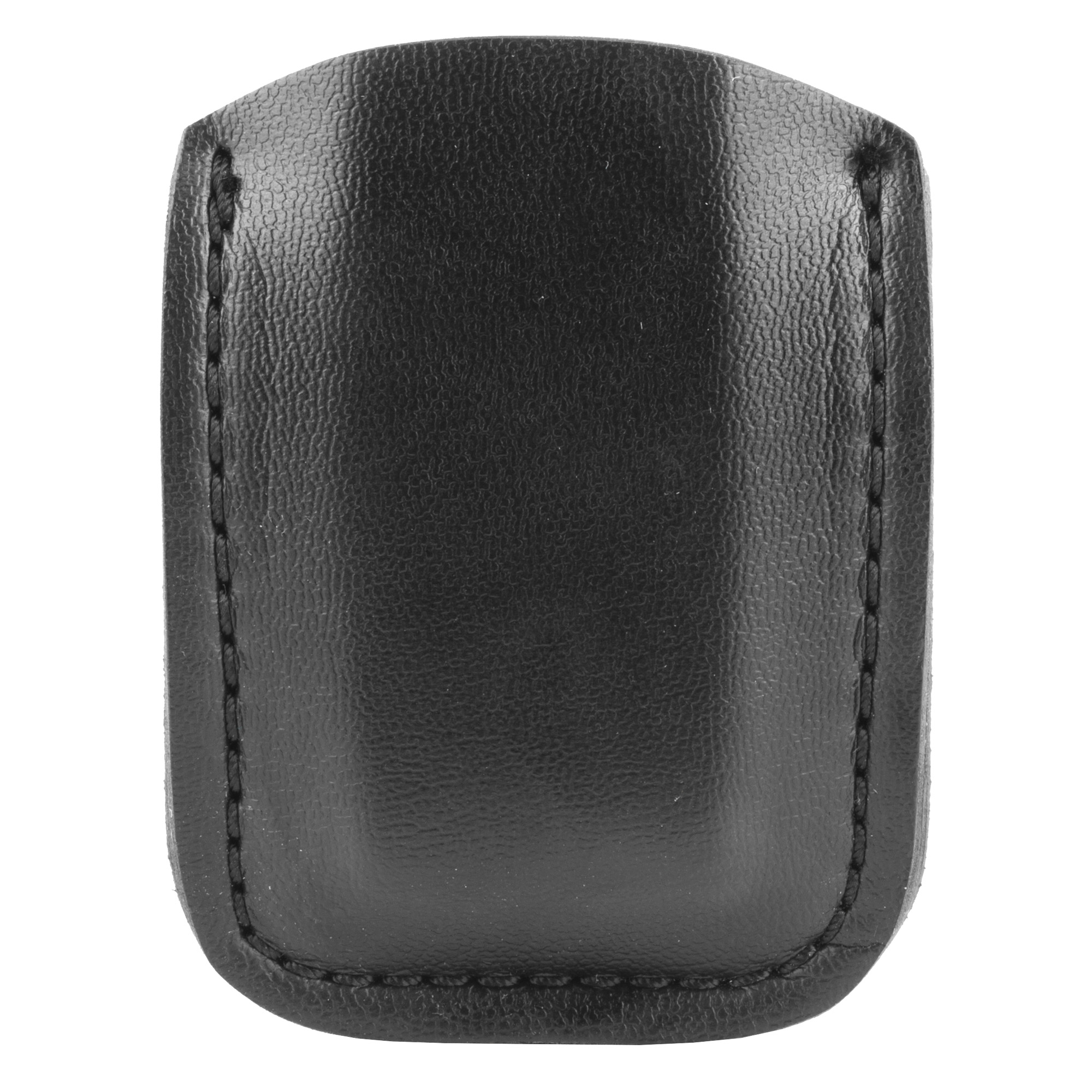 "The Model 81 Open Top Lightweight Magazine Pouch features a low cut design and is a two-piece leather and laminate construction. The back side of the 81 folds over to form a snap-type belt loop"" and it also has a small finger tab next to the snap for quick and easy removal. The 81 is for use on belts up to 1.75 in. (45 mm) wide."