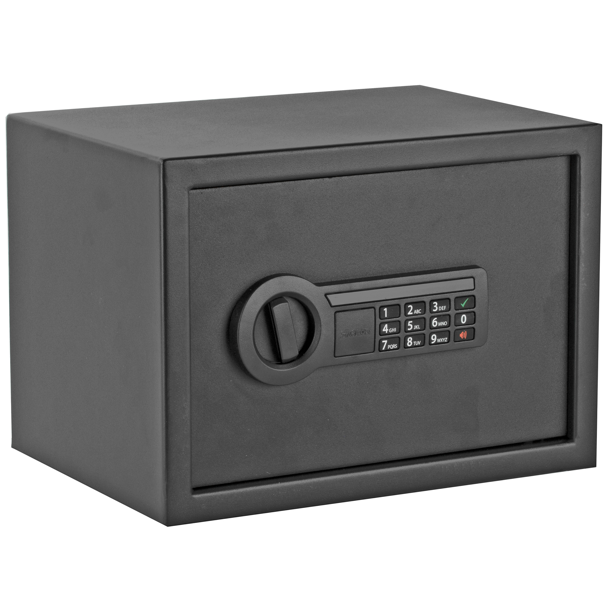 """Great for the home"""" office"""" garage or anywhere else"""" this Stack-On Personal Safe with Electronic Keypad can keep your belongings secure."""