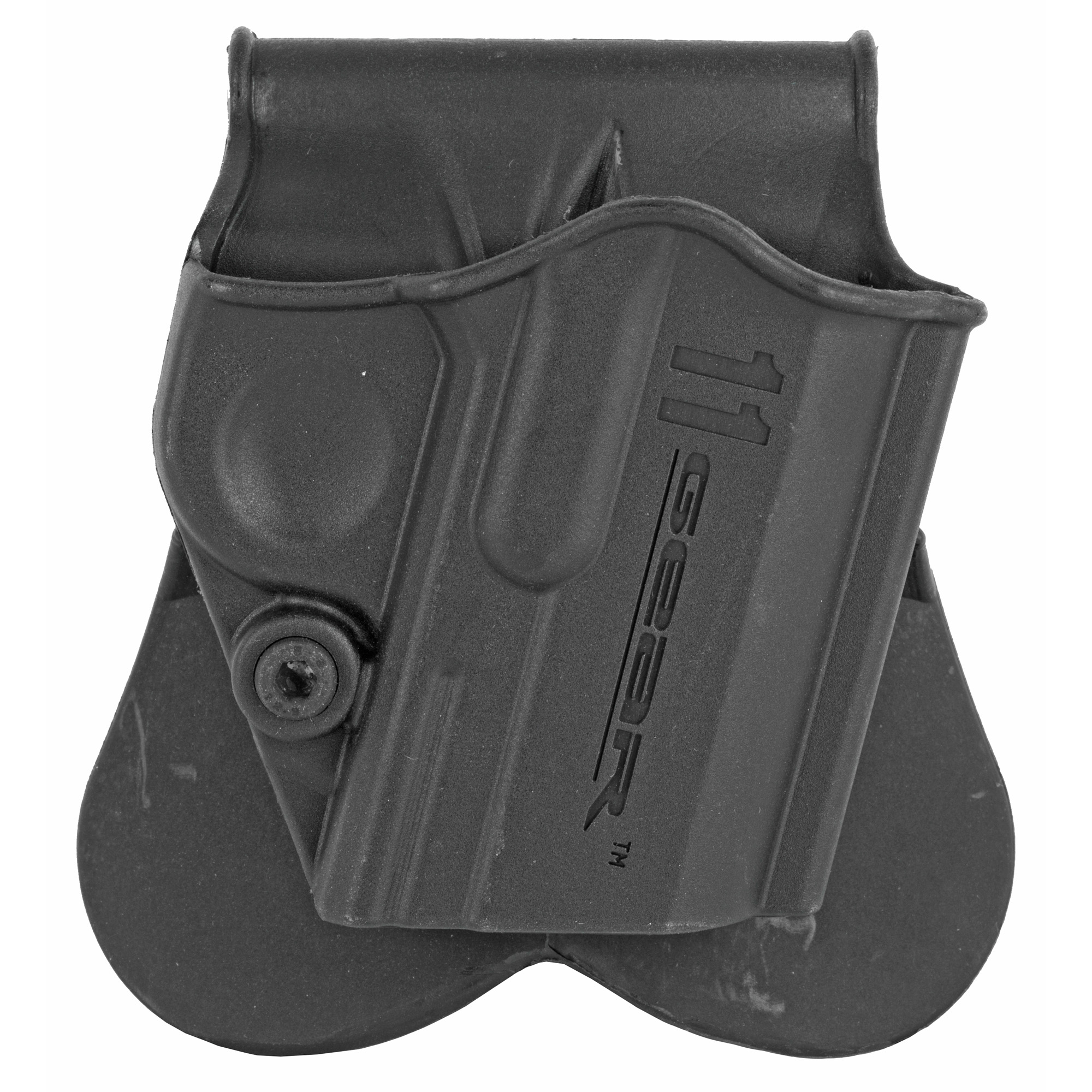 This one piece paddle holster from Springfield fits 1911's.