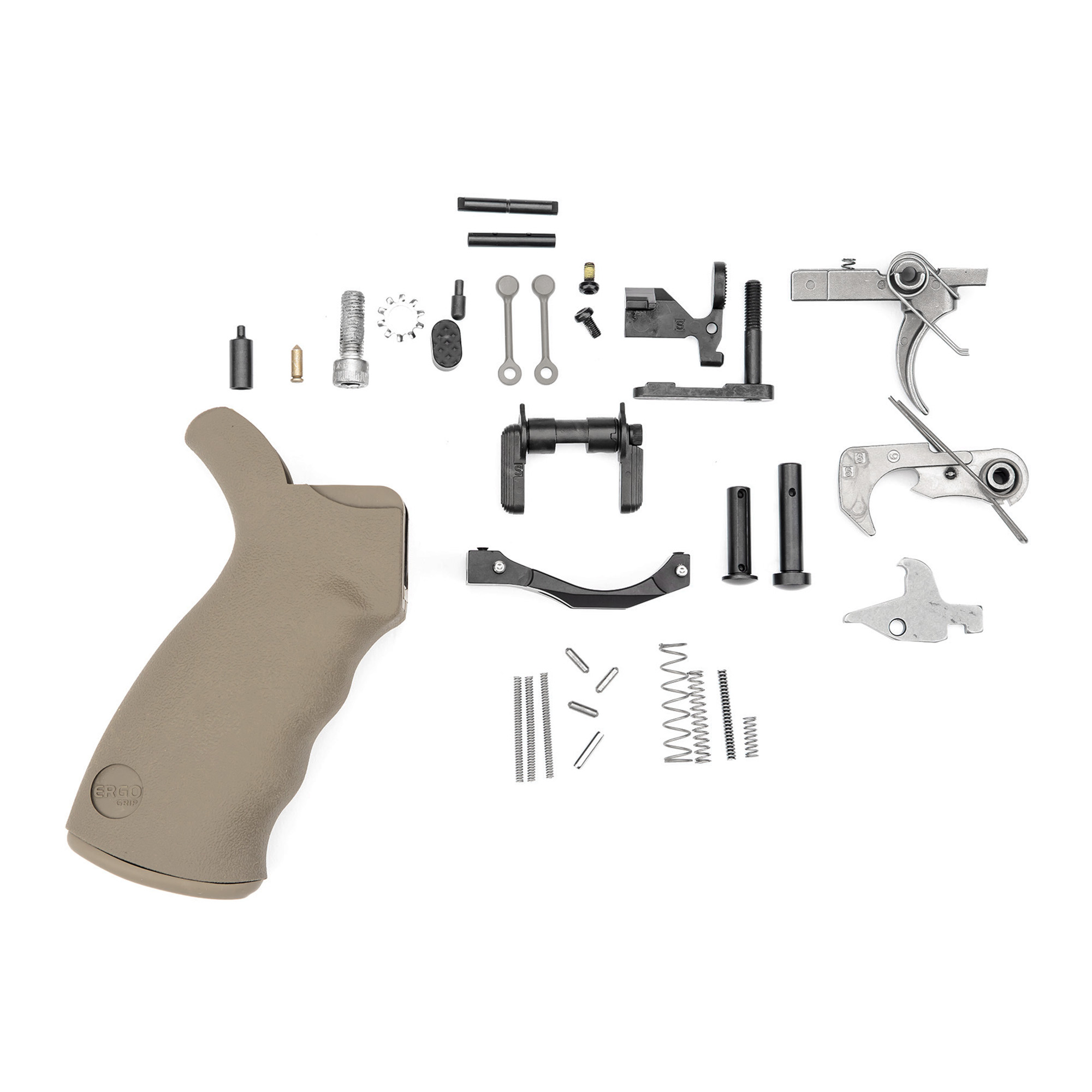 "If you're looking for the highest quality and most durable Lower Parts Kit on the market with all of the upgrades"" look no further. The Spike's Tactical Enhanced LPK was designed for the end user who demands the most longevity possible out of the parts in their rifles. Proudly made in the USA."