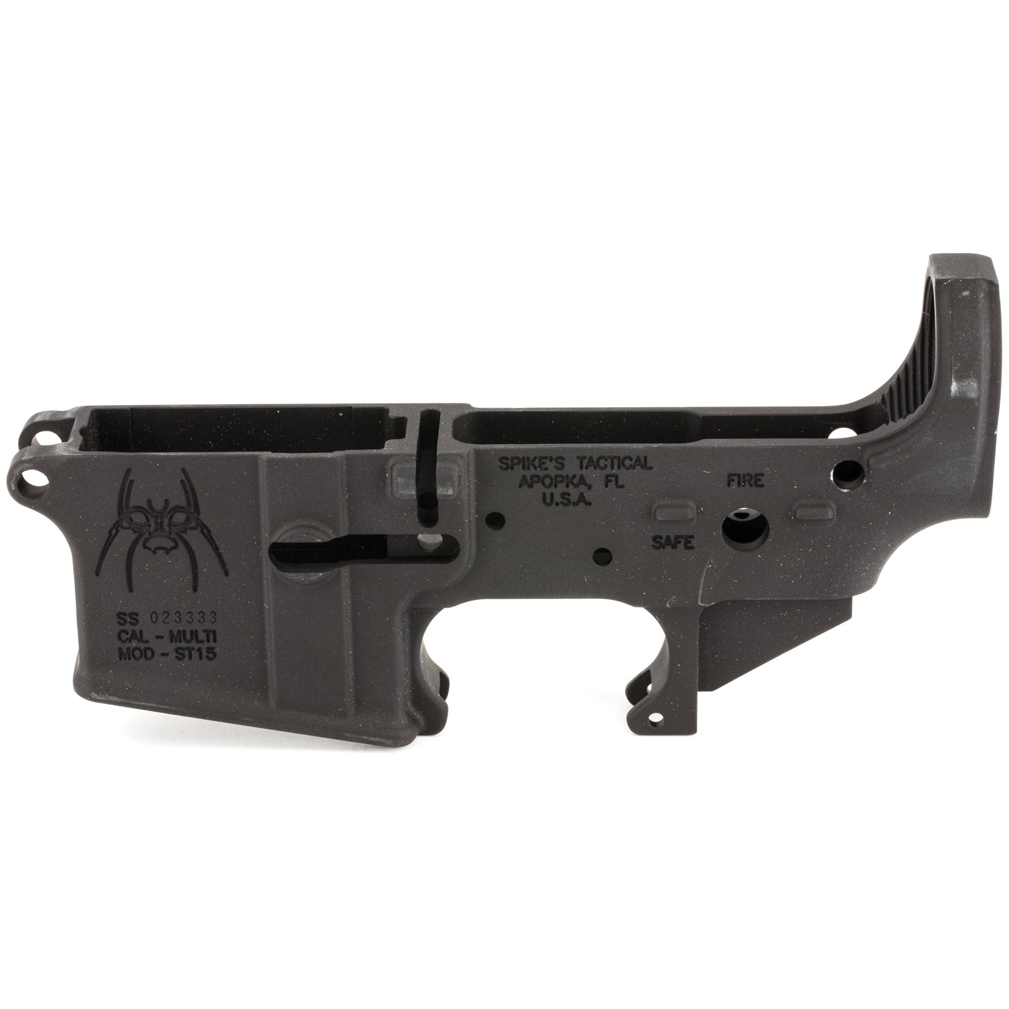 "Spike's lowers are made to the highest standards. If you are planning a build or just putting lowers away for a rainy day"" you can't go wrong with Spike's lower receivers."