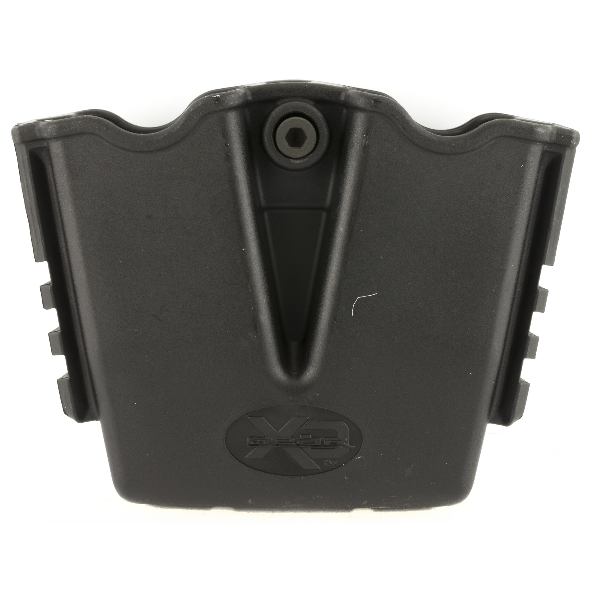 """This is a double magazine pouch for .45ACP"""" XD(M) and XD."""