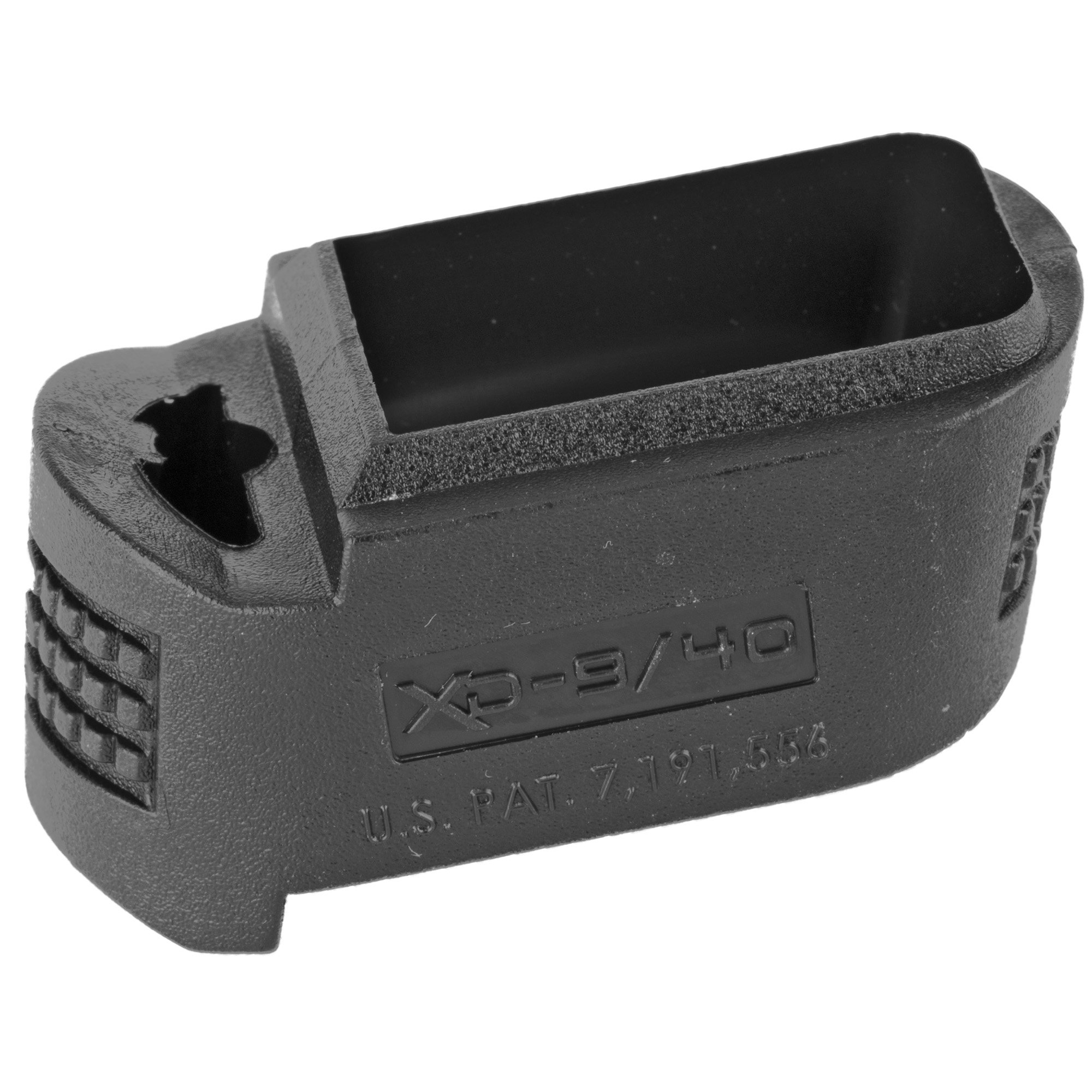 The Springfield Mag Xtension allows the use of full size magazines in subcompact pistols comfortably.