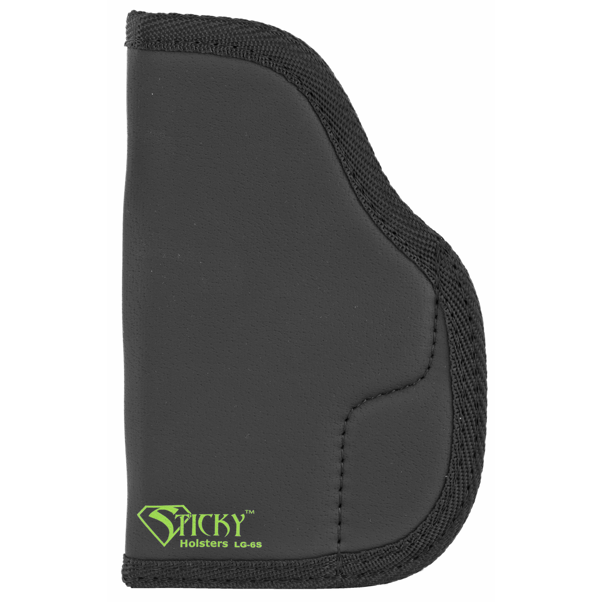 "Their holsters are the most versatile"" comfortable and convenient on the market. The holster uses a high friction synthetic rubber to stay in place. These can be worn in the waistband or in a pocket or on the ankle. Also available in modified versions that fit most lights and lasers."