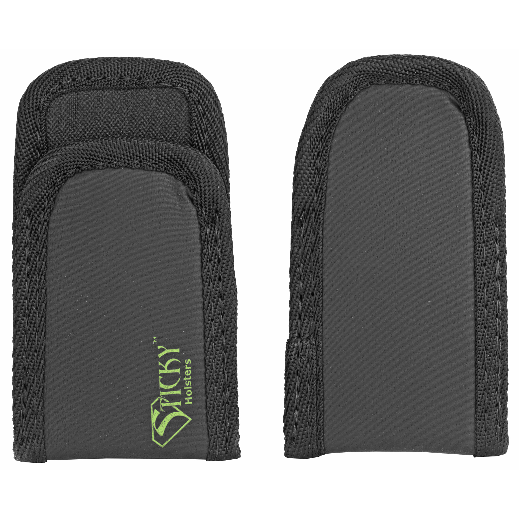 "The Mag Sleeve is a IWB or Pocket magazine or accessory holder. This can be used to carry a full sized or double stack magazine"" flashlight"" tourniquet"" etc. This is a two pack."