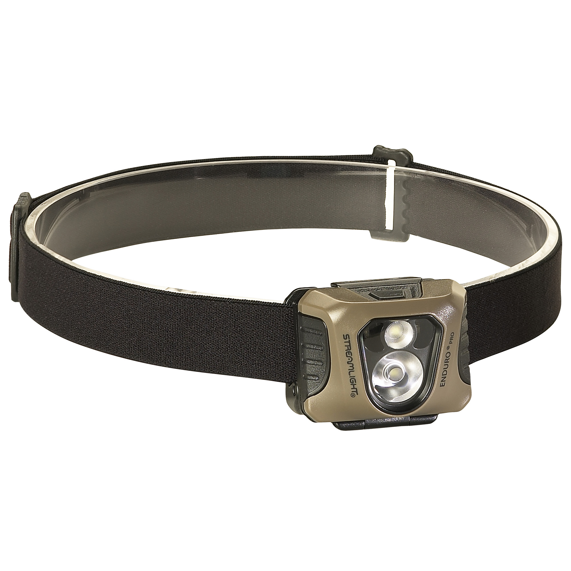 "A low-profile multi-function headlamp with the performance you've come to expect from Streamlight headlamps. Three lighting modes to cover a variety of tasks: spot beam for a focused beam"" flood for soft area illumination that won't tire your eyes and red or green LEDs to preserve night vision."