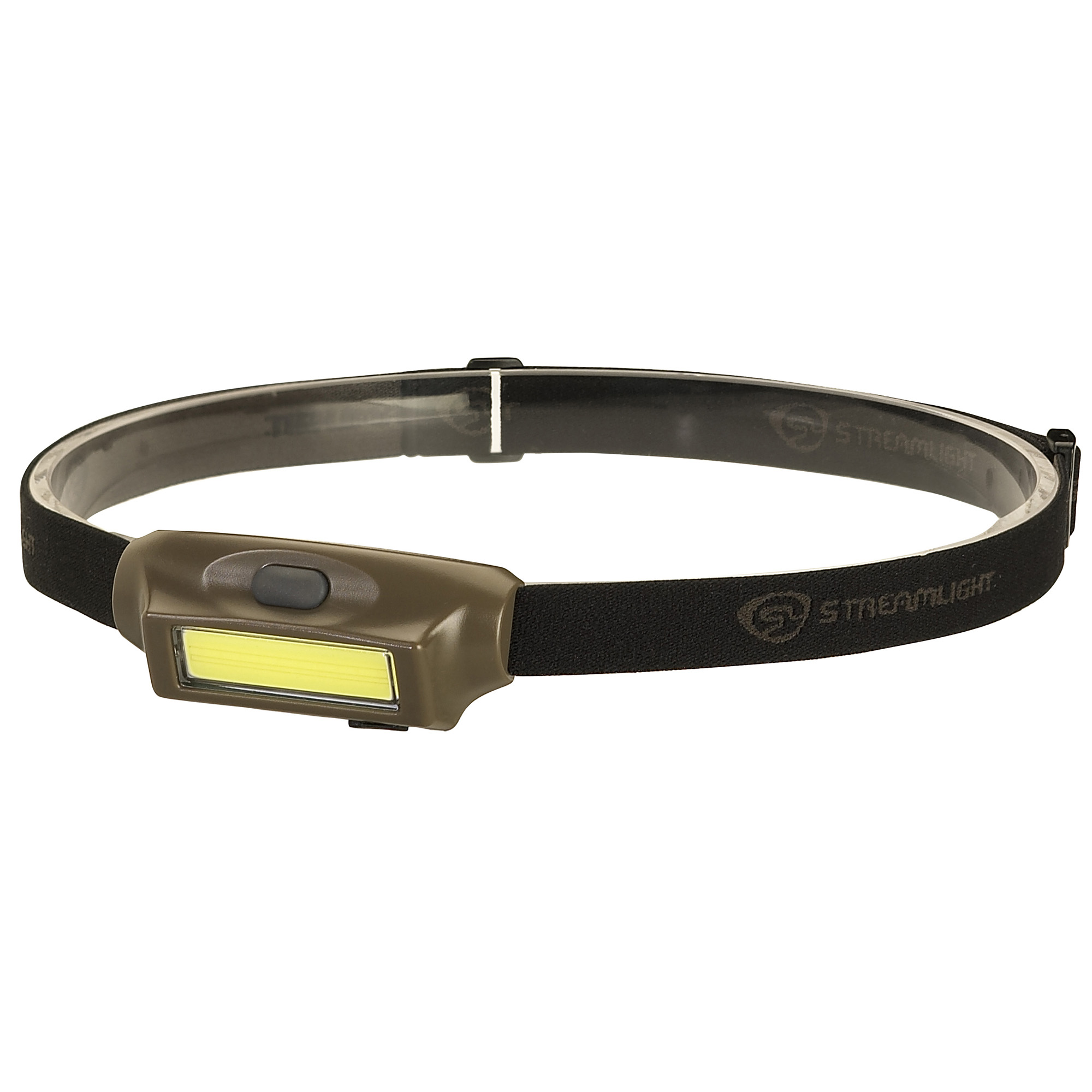 "The Bandit - a lightweight"" low-profile headlamp designed just for you! It is USB rechargeable and provides 180 lumens of widespread white light."