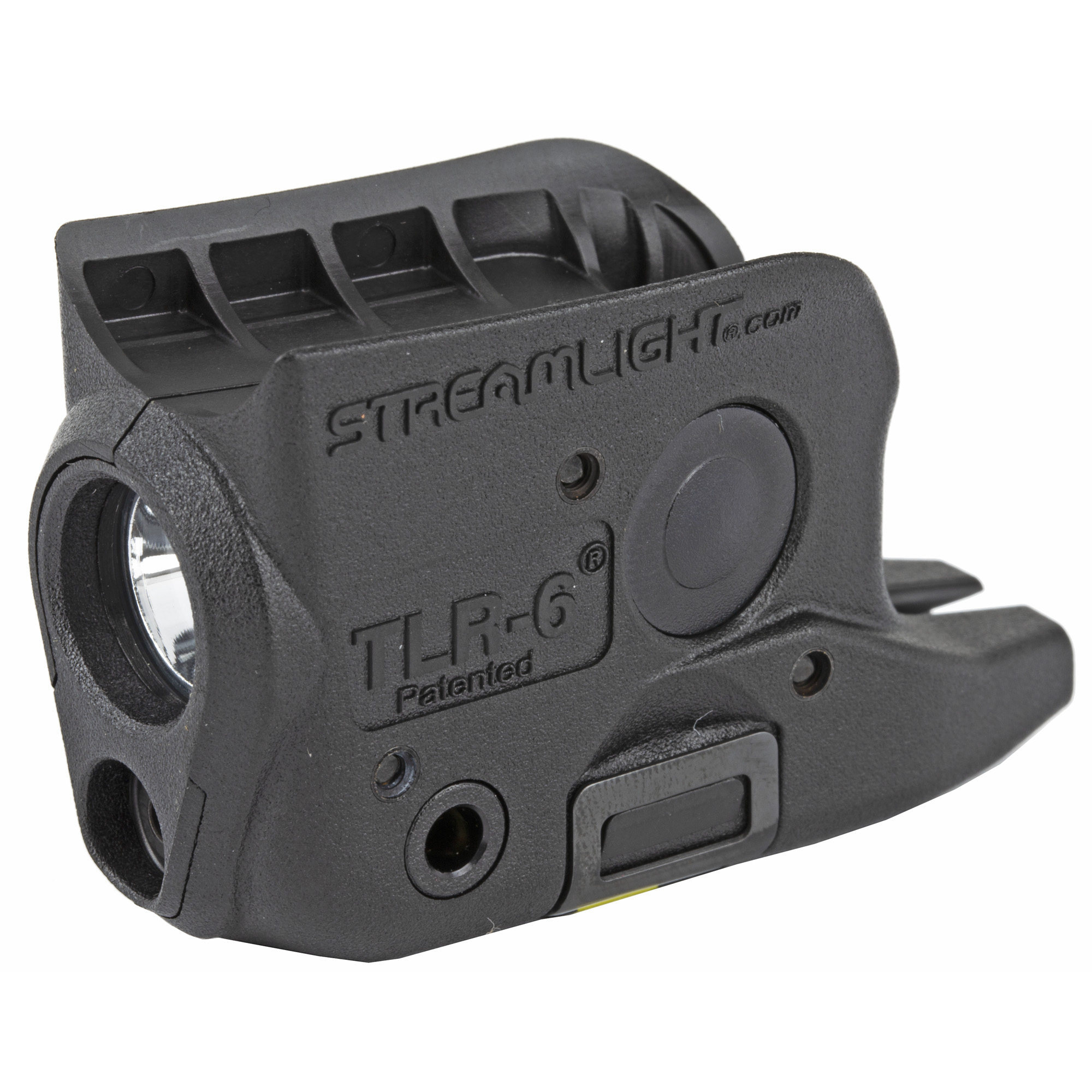 The first subcompact pistol light with both an LED illuminator and a laser.